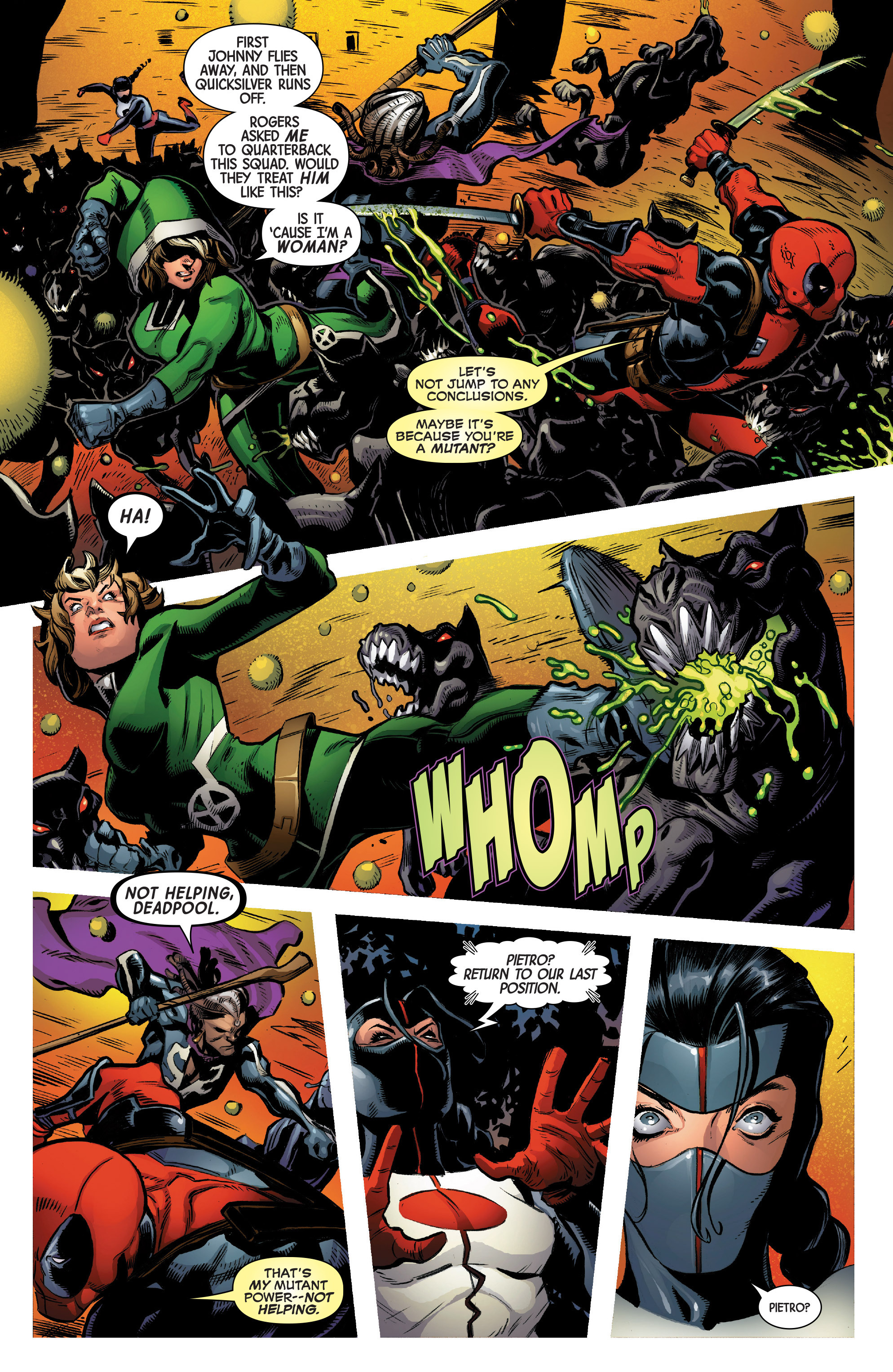 Read online Uncanny Avengers [II] comic -  Issue #2 - 11
