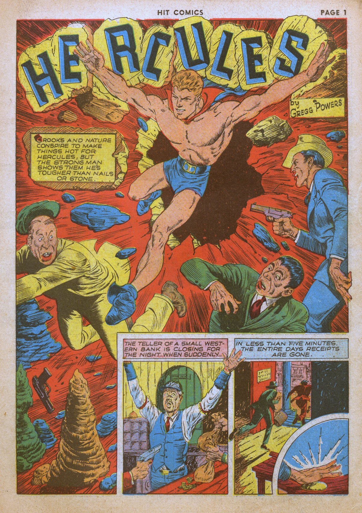 Read online Hit Comics comic -  Issue #12 - 3
