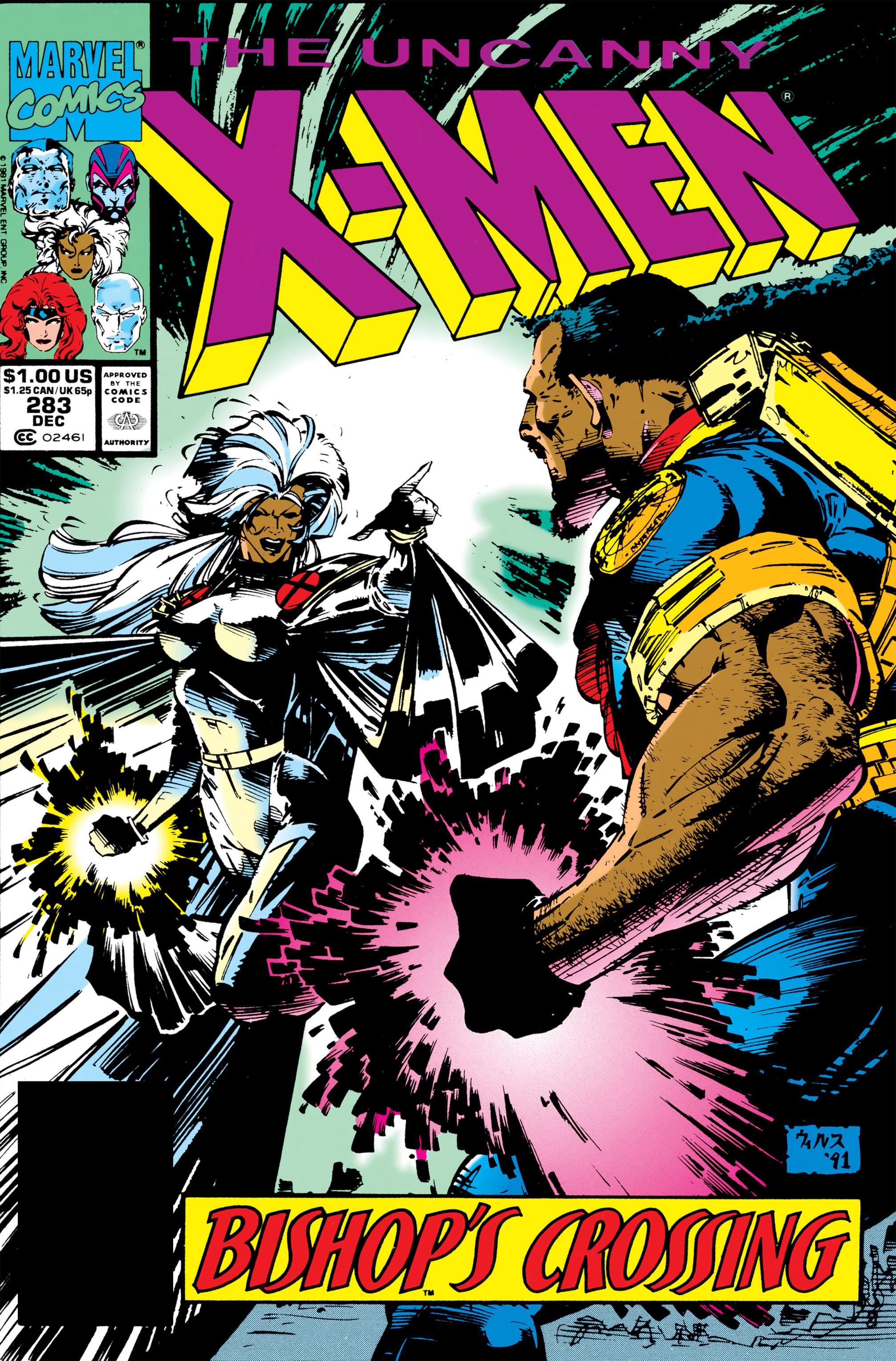 Uncanny X-Men (1963) 283 Page 1