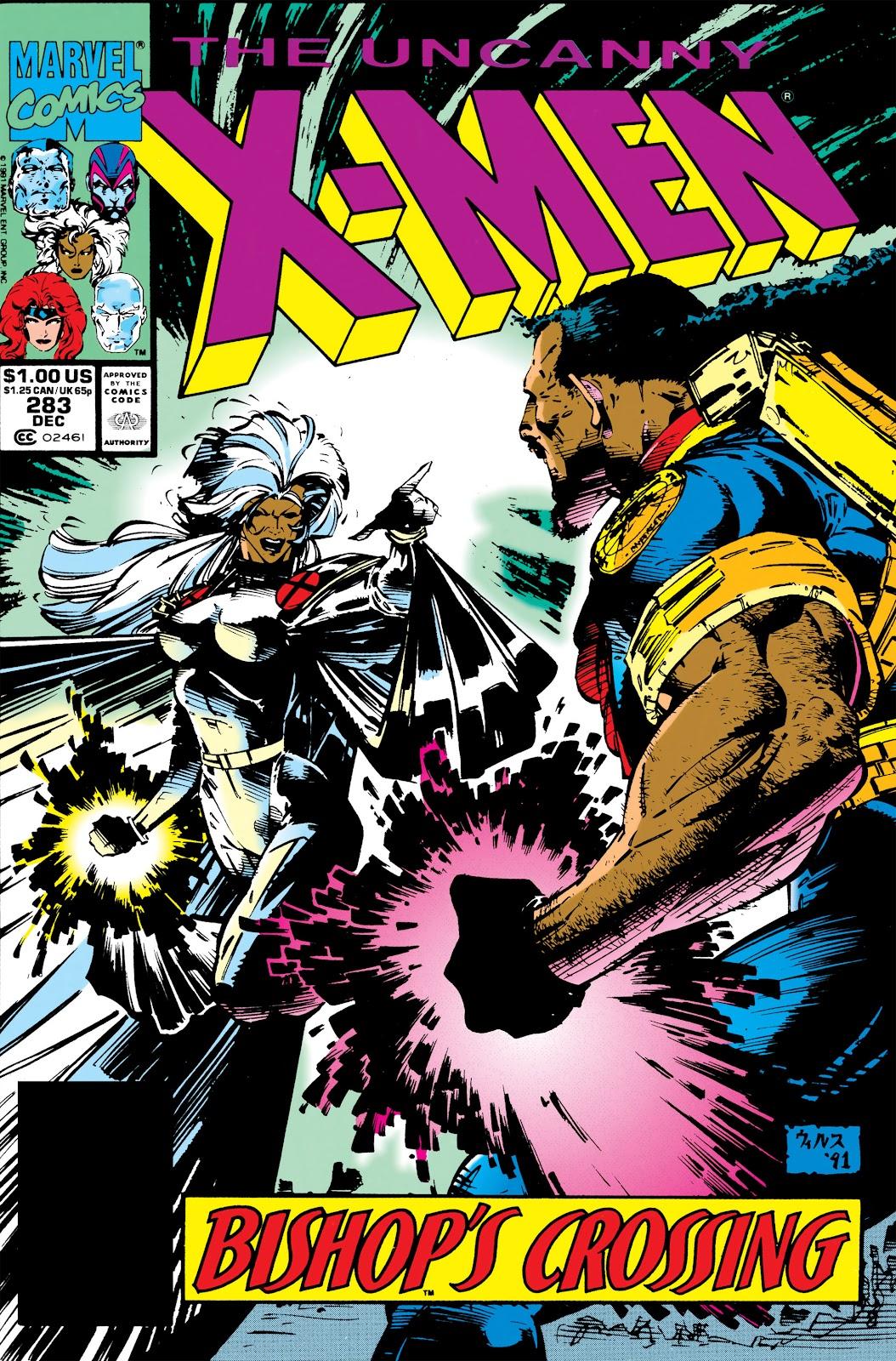 Uncanny X-Men (1963) issue 283 - Page 1