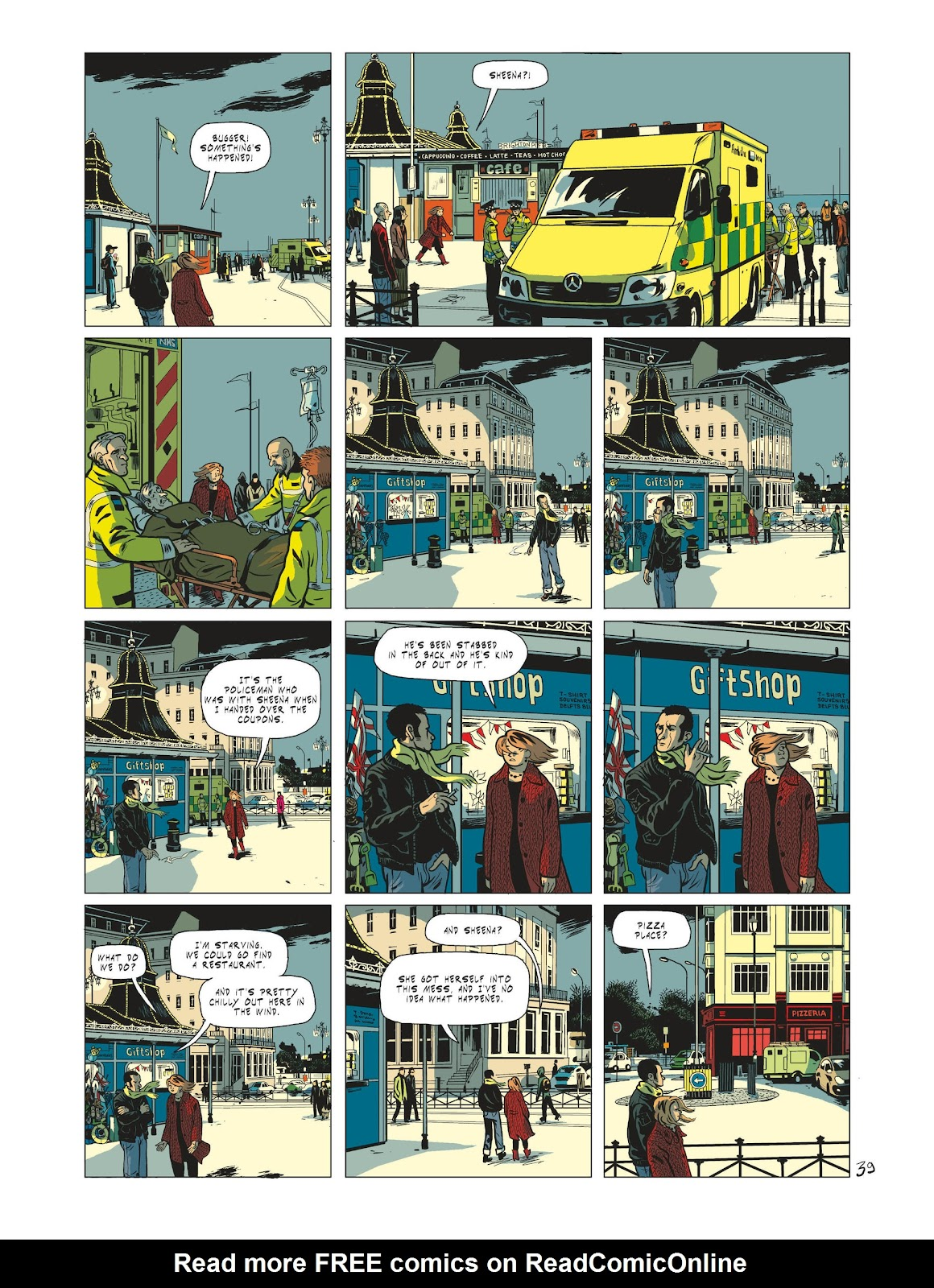 Read online Maggy Garrisson comic -  Issue #1 - 41