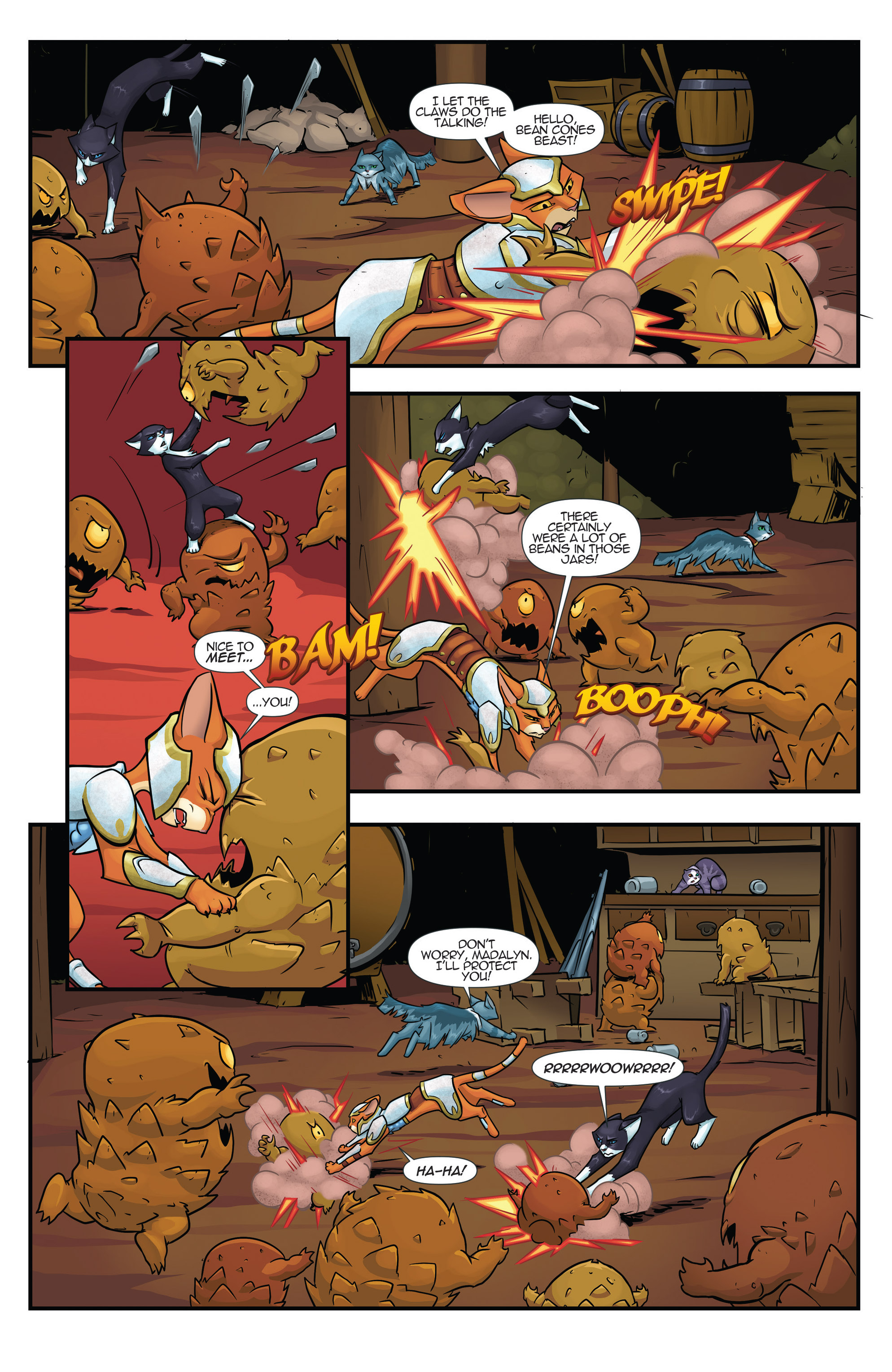 Read online Hero Cats comic -  Issue #17 - 7
