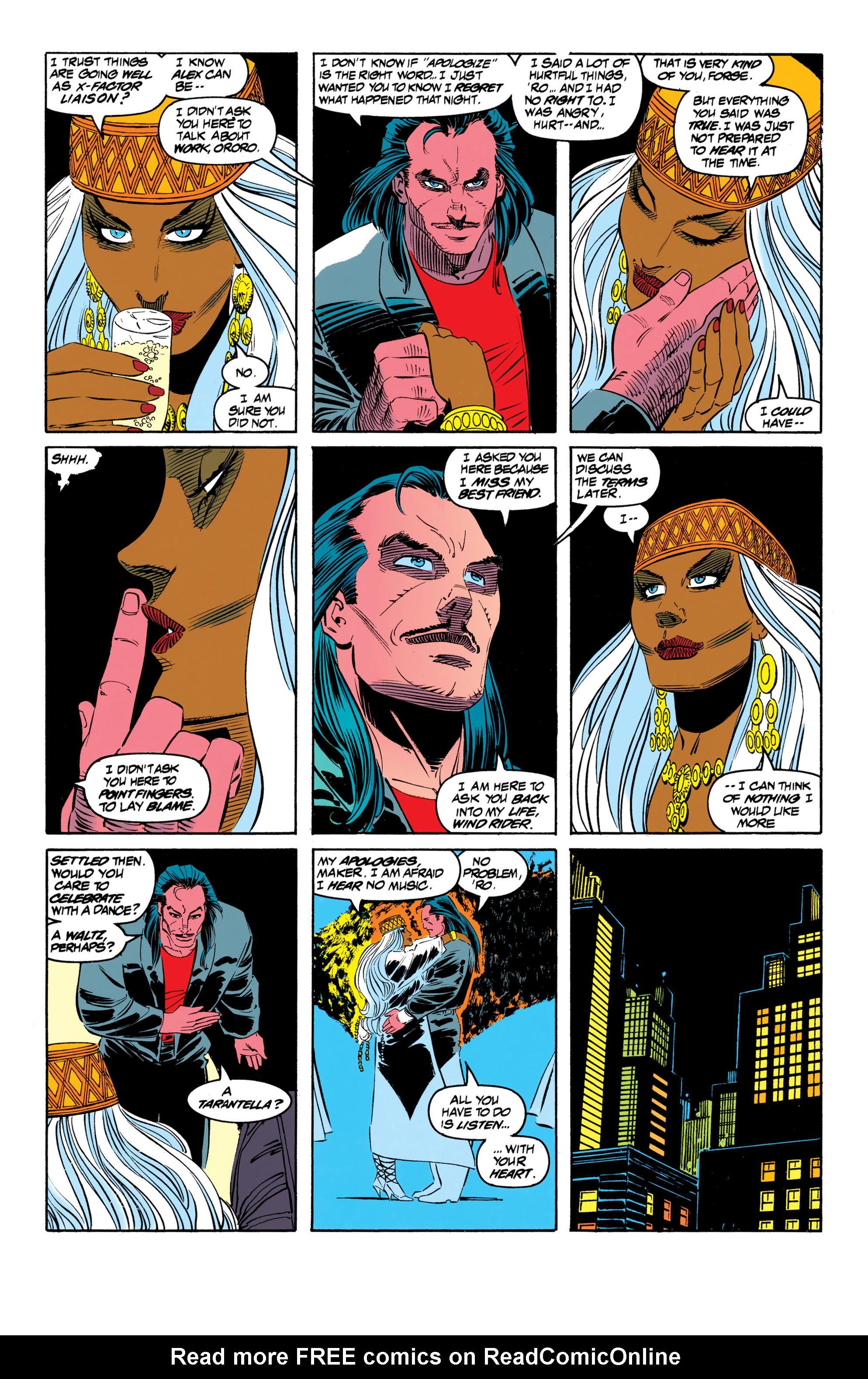 Read online Uncanny X-Men (1963) comic -  Issue #306 - 12
