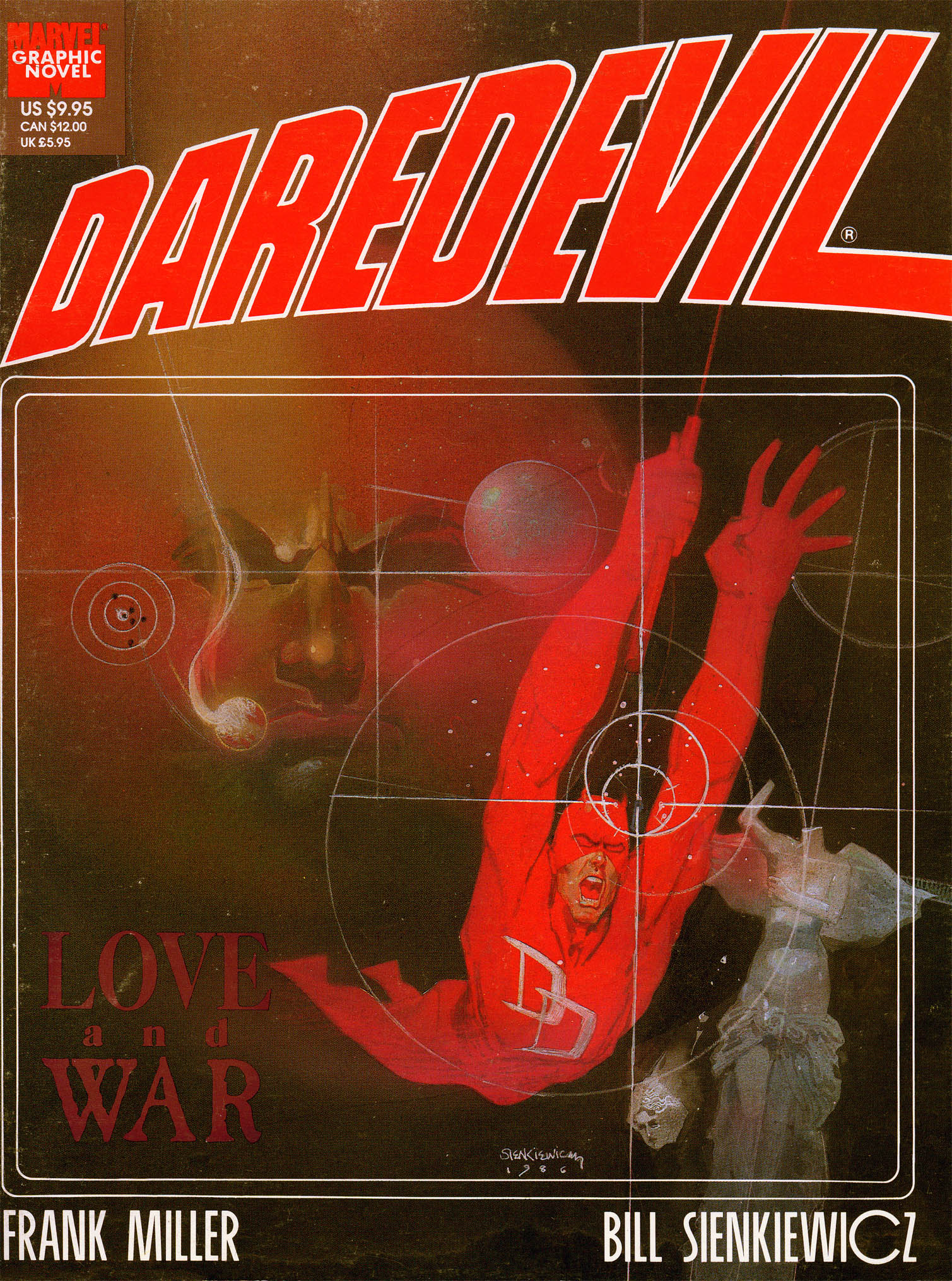 Marvel Graphic Novel 24_-_Daredevil_-_Love__War Page 1
