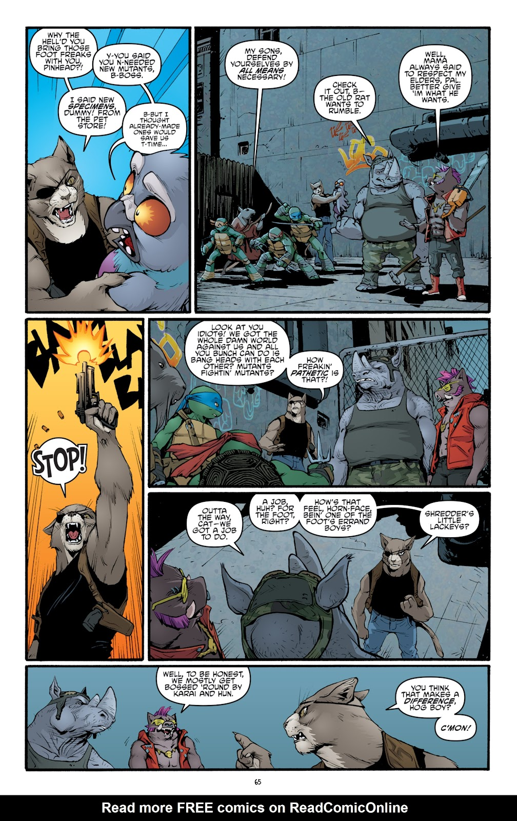 Read online Teenage Mutant Ninja Turtles: The IDW Collection comic -  Issue # TPB 5 (Part 2) - 42