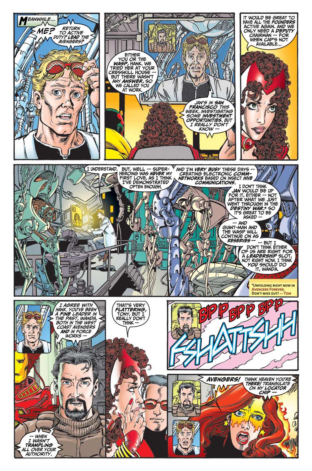 Read online Avengers (1998) comic -  Issue #13 - 14