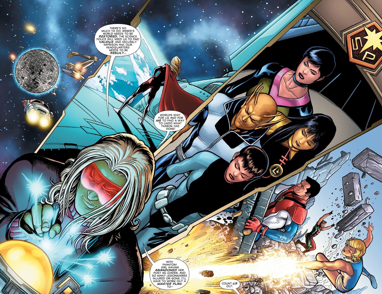 Legion of Super-Heroes (2011) Issue #23 #24 - English 10