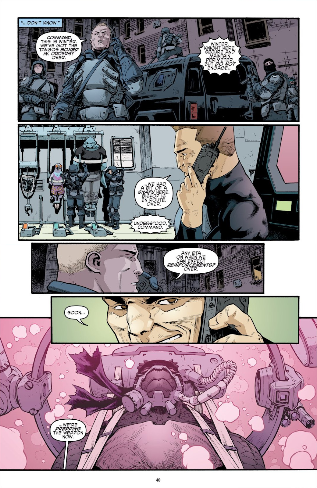 Read online Teenage Mutant Ninja Turtles: The IDW Collection comic -  Issue # TPB 9 (Part 1) - 49