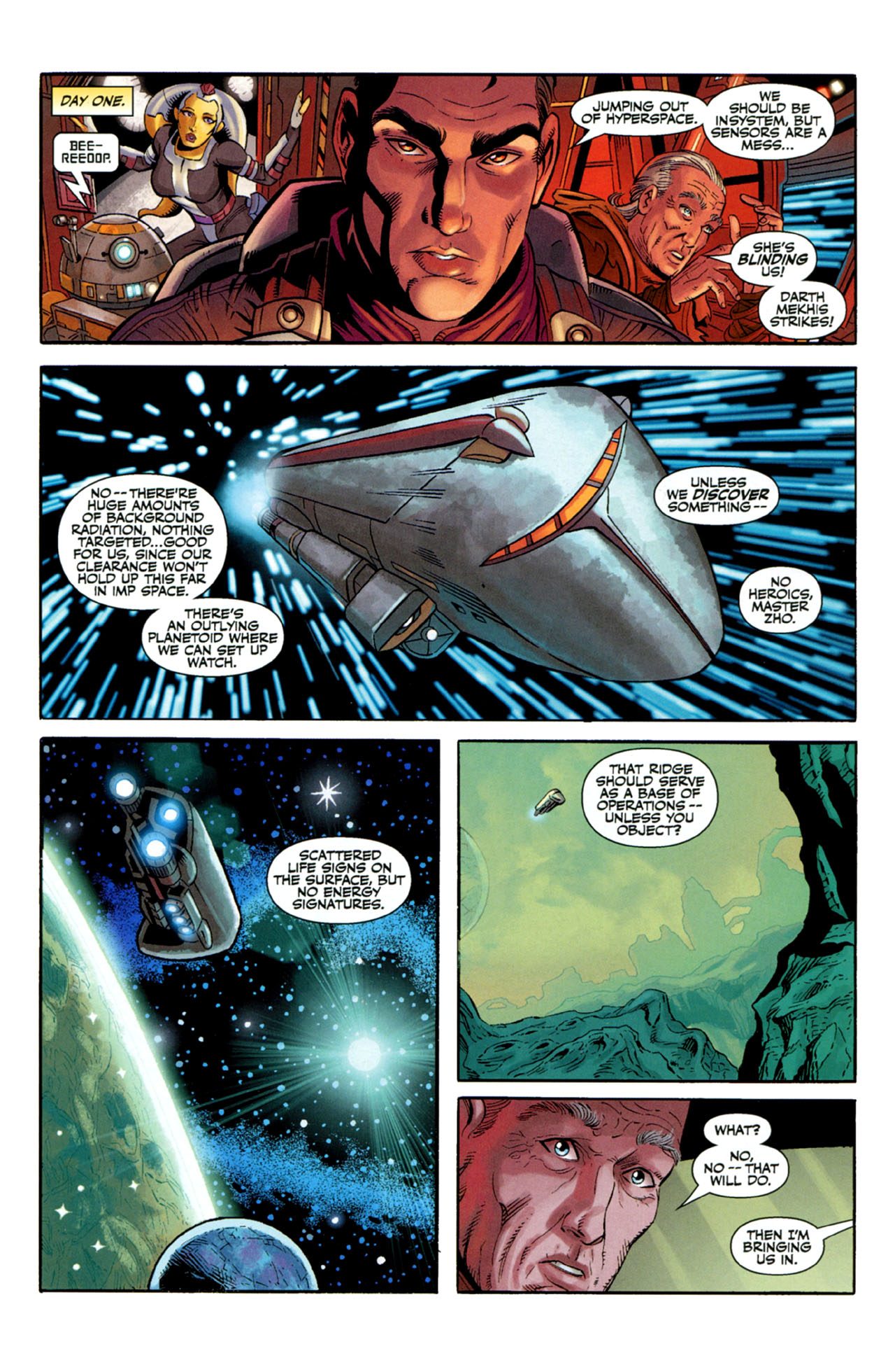 Read online Star Wars: The Old Republic - The Lost Suns comic -  Issue #3 - 9