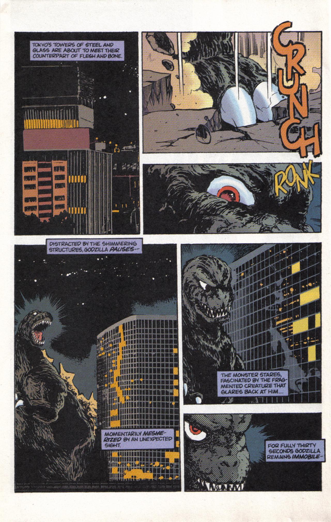 Read online Dark Horse Classics: Terror of Godzilla comic -  Issue #3 - 26