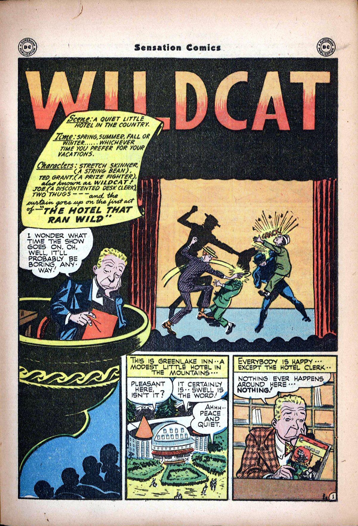 Read online Sensation (Mystery) Comics comic -  Issue #62 - 43