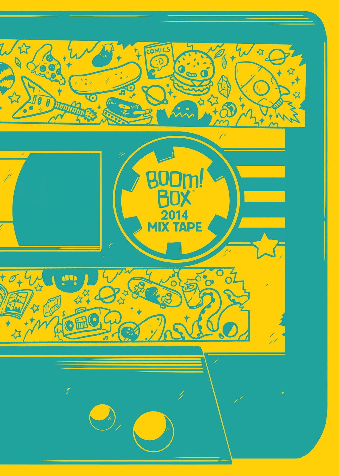 BOOM! Box 2014 Mix Tape issue Full - Page 1