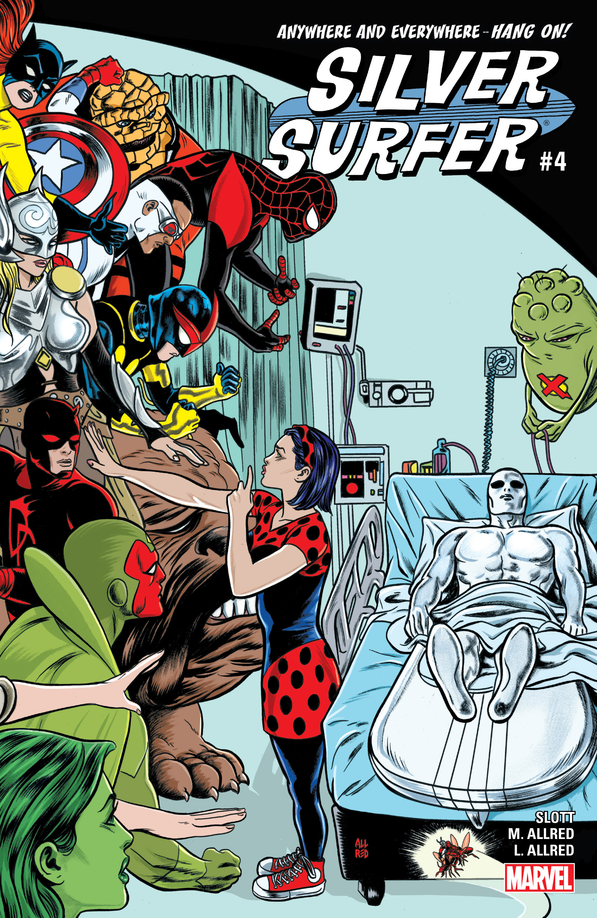 Read online Silver Surfer (2016) comic -  Issue #4 - 1