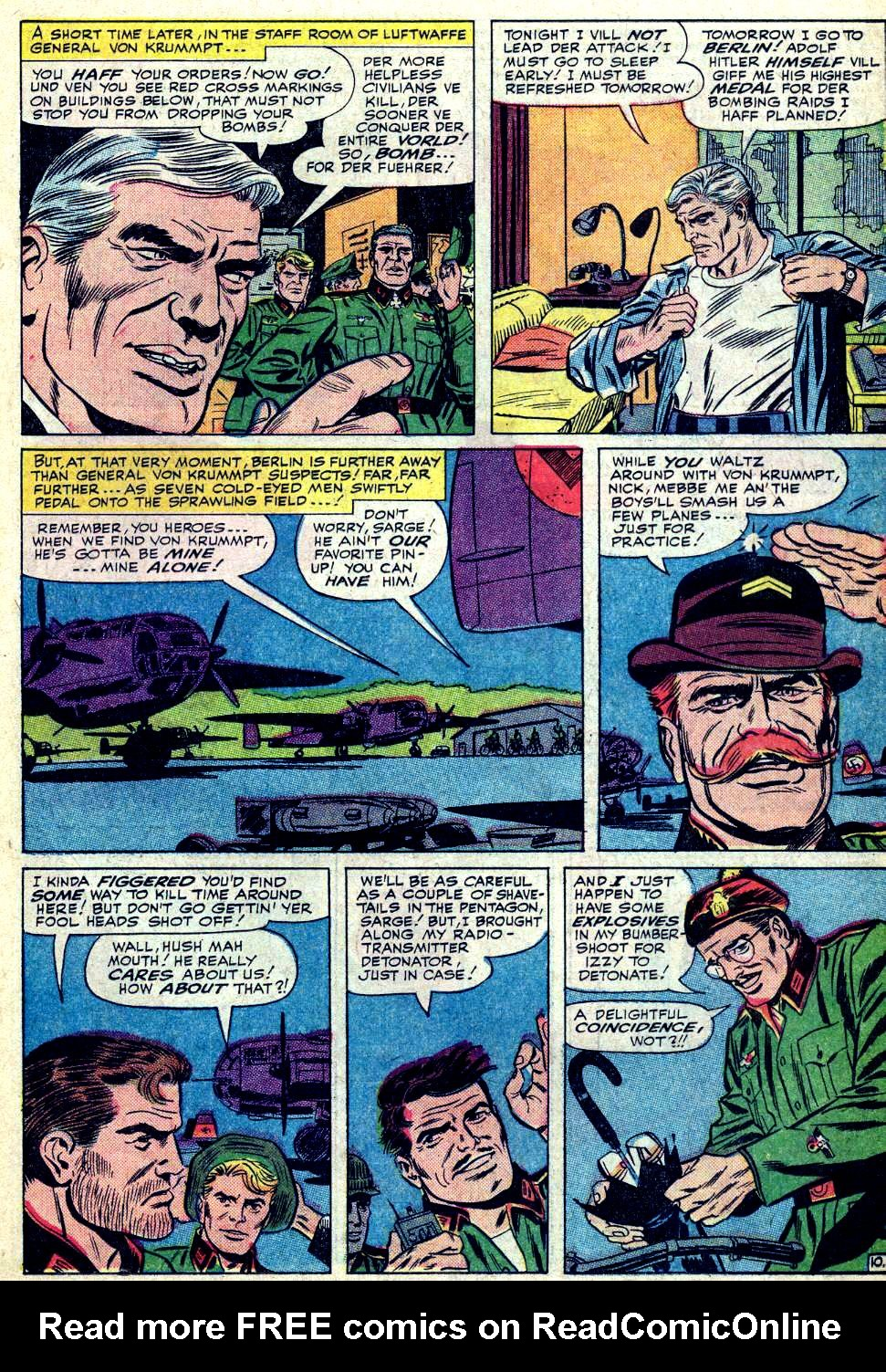 Read online Sgt. Fury comic -  Issue #19 - 15