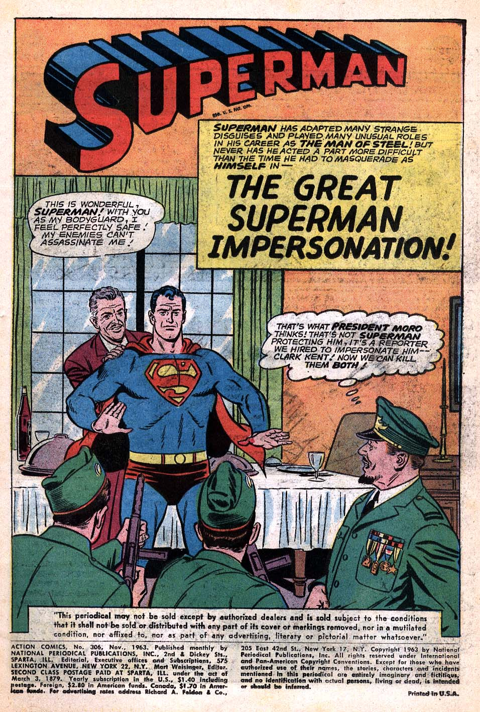 Read online Action Comics (1938) comic -  Issue #306 - 2