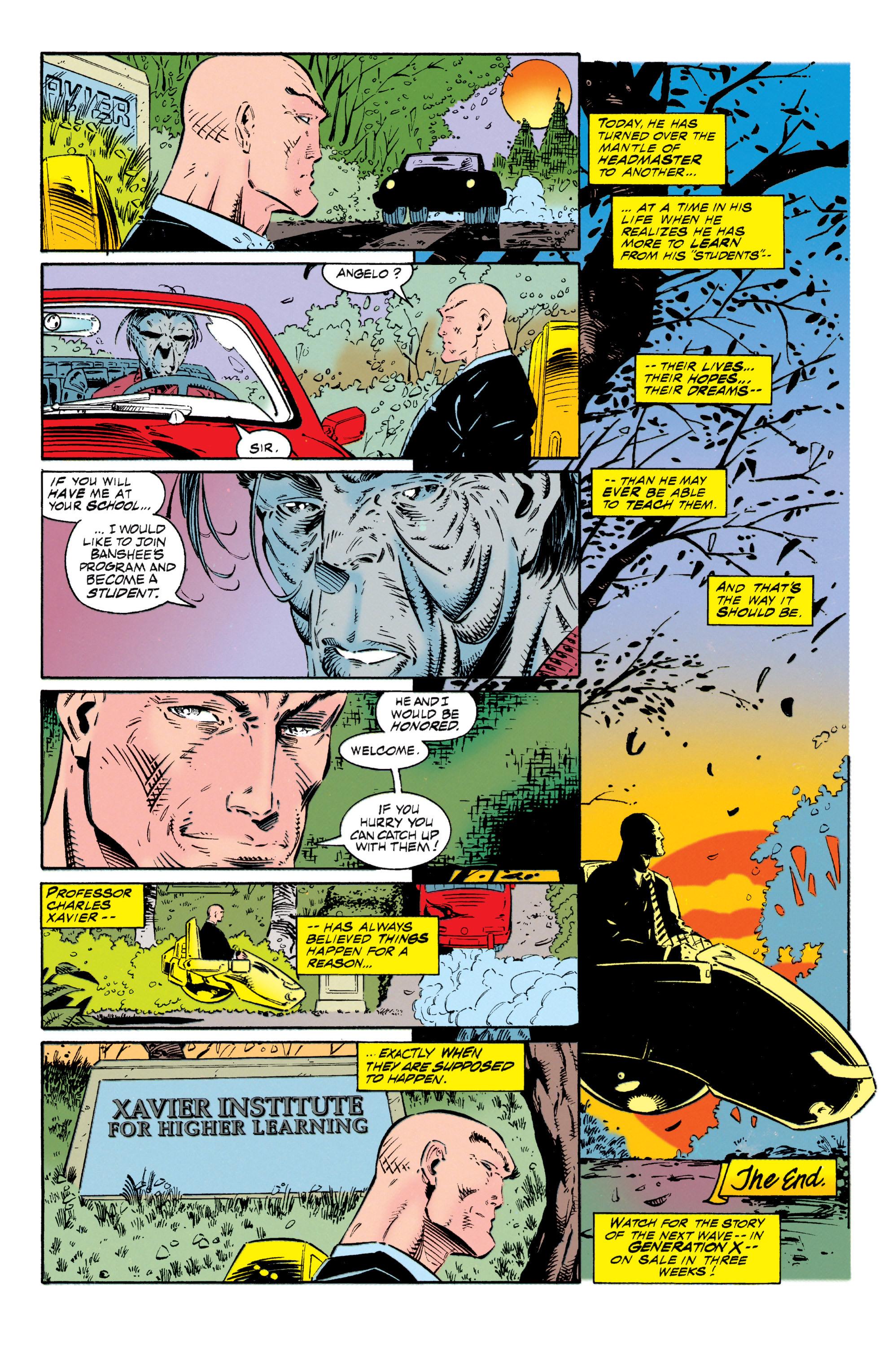 Read online Uncanny X-Men (1963) comic -  Issue #318 - 24