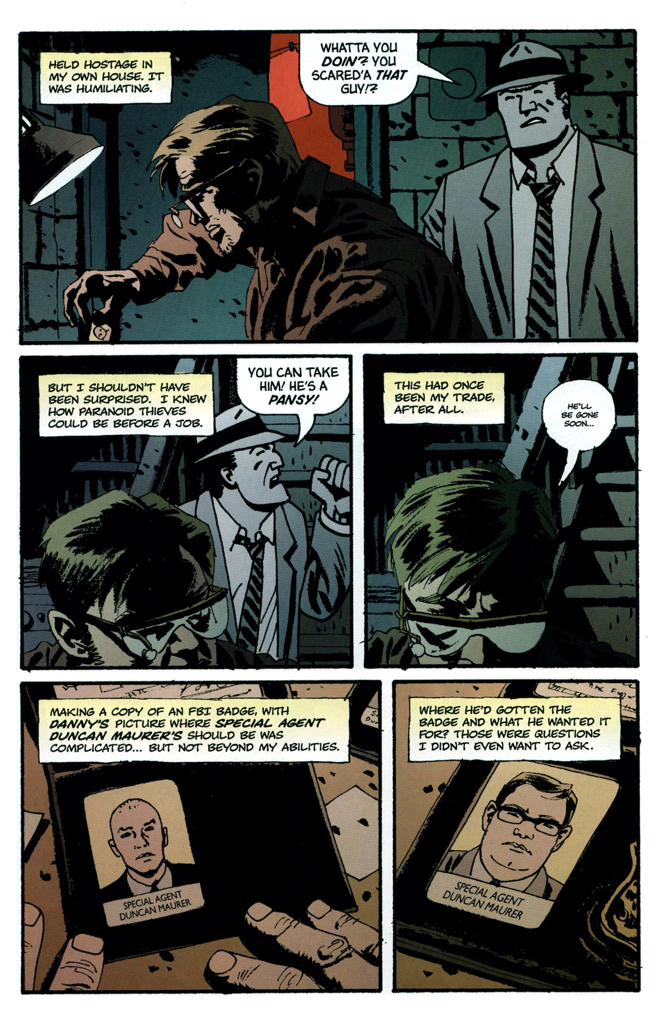 Read online Criminal (2008) comic -  Issue #5 - 5
