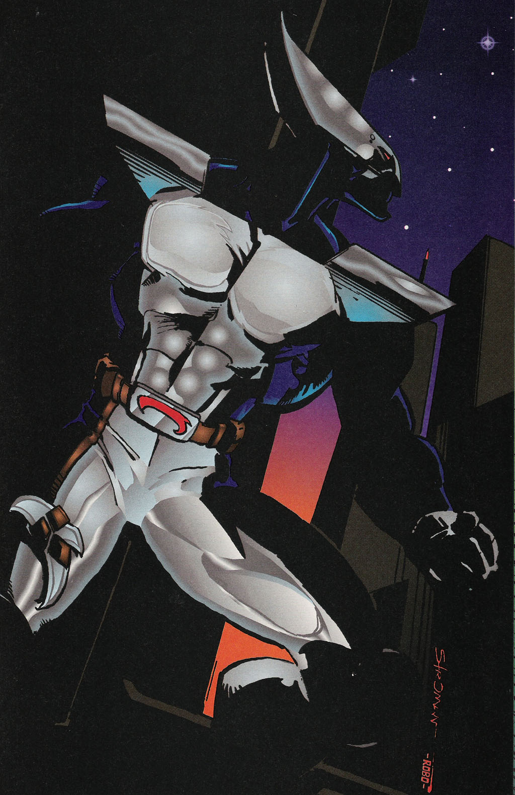 Read online ShadowHawk Gallery comic -  Issue # Full - 24