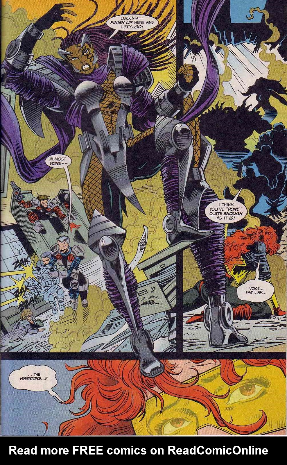 The New Warriors Issue #63 #67 - English 22