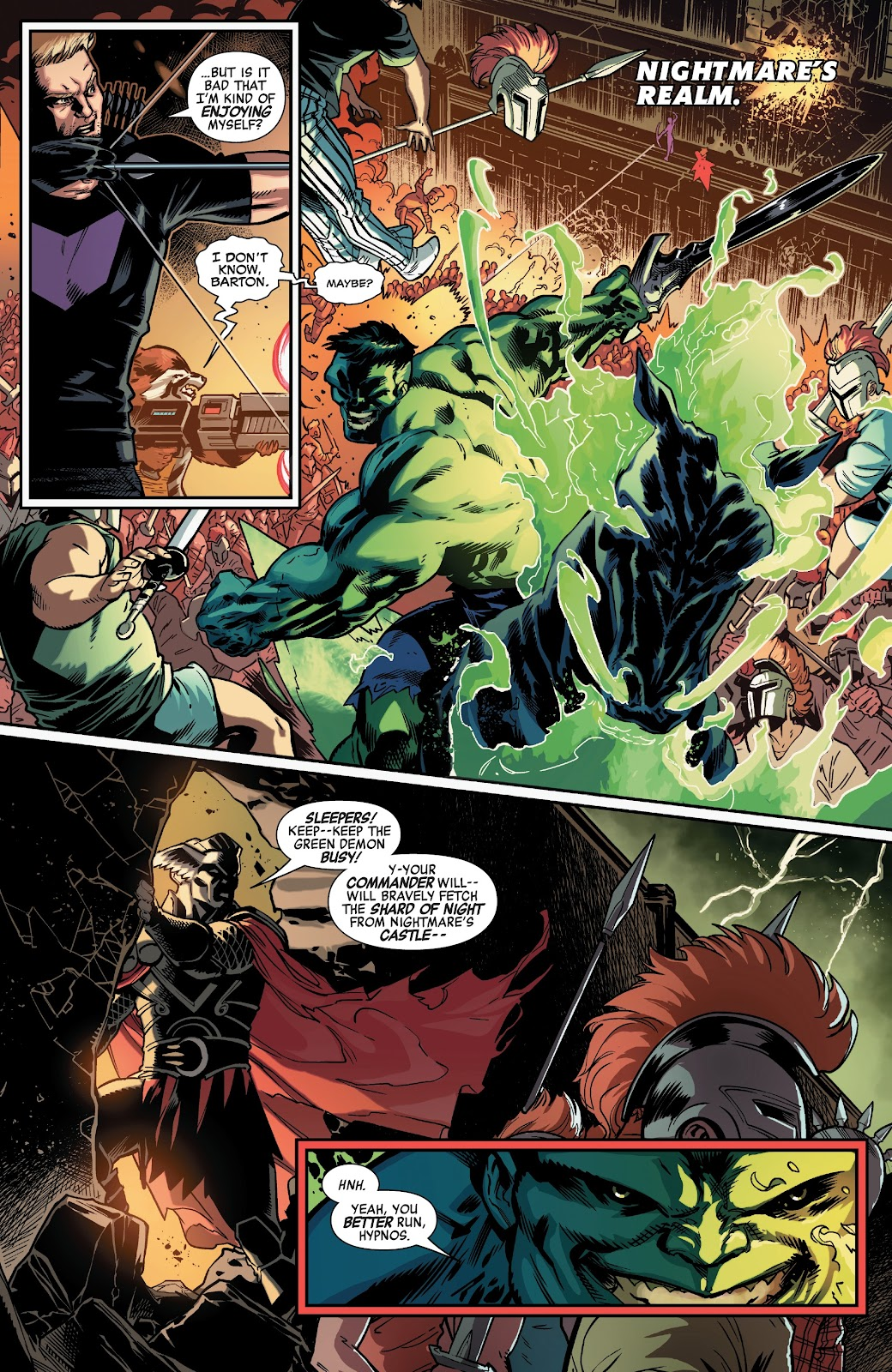 Read online Avengers No Road Home comic -  Issue #5 - 7