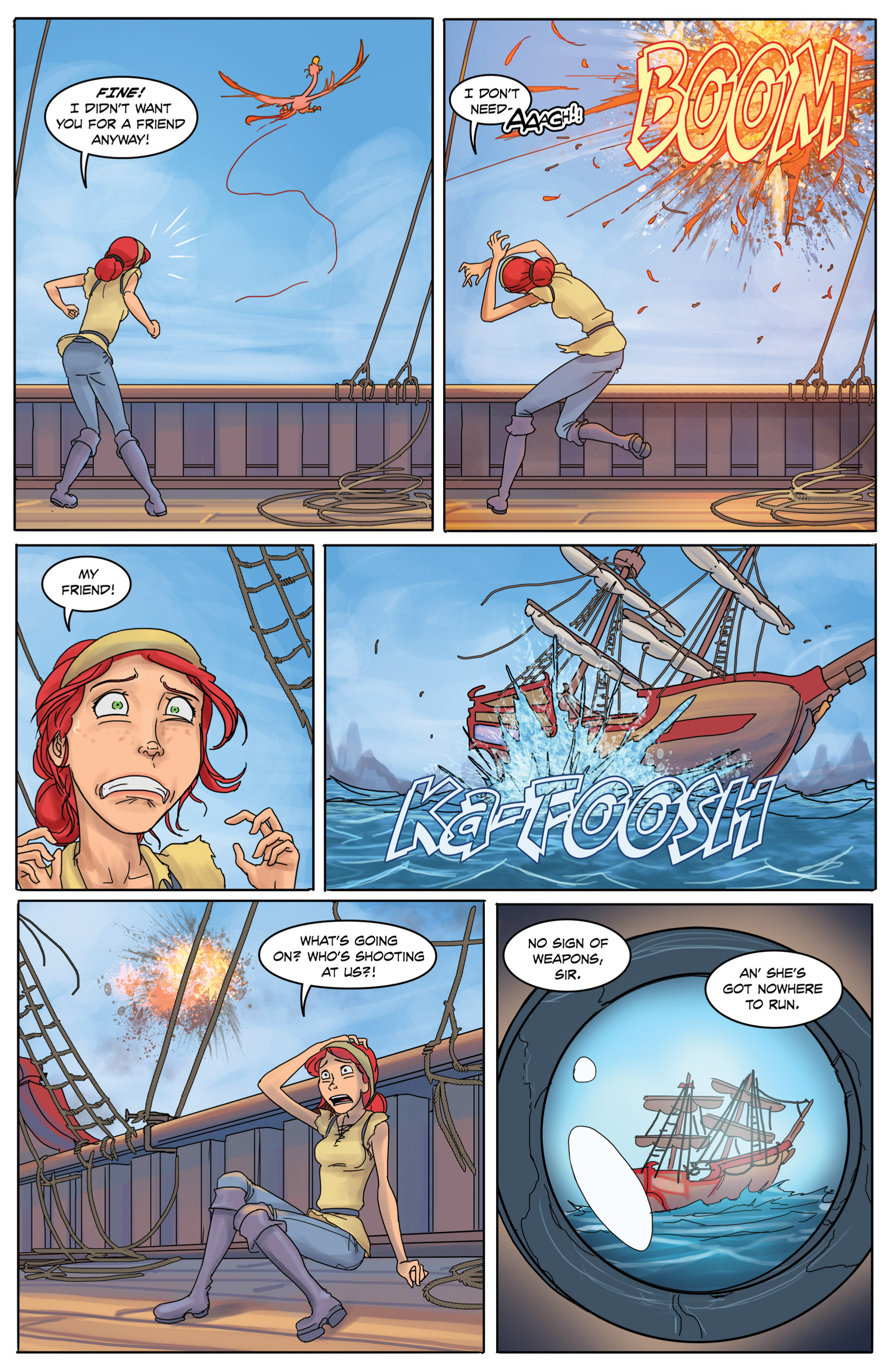 Read online Anne Bonnie comic -  Issue #1 - 27