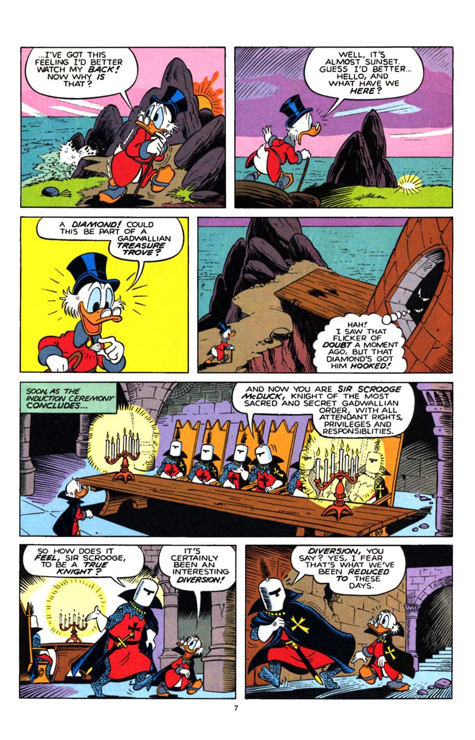 Read online Uncle Scrooge (1953) comic -  Issue #247 - 23
