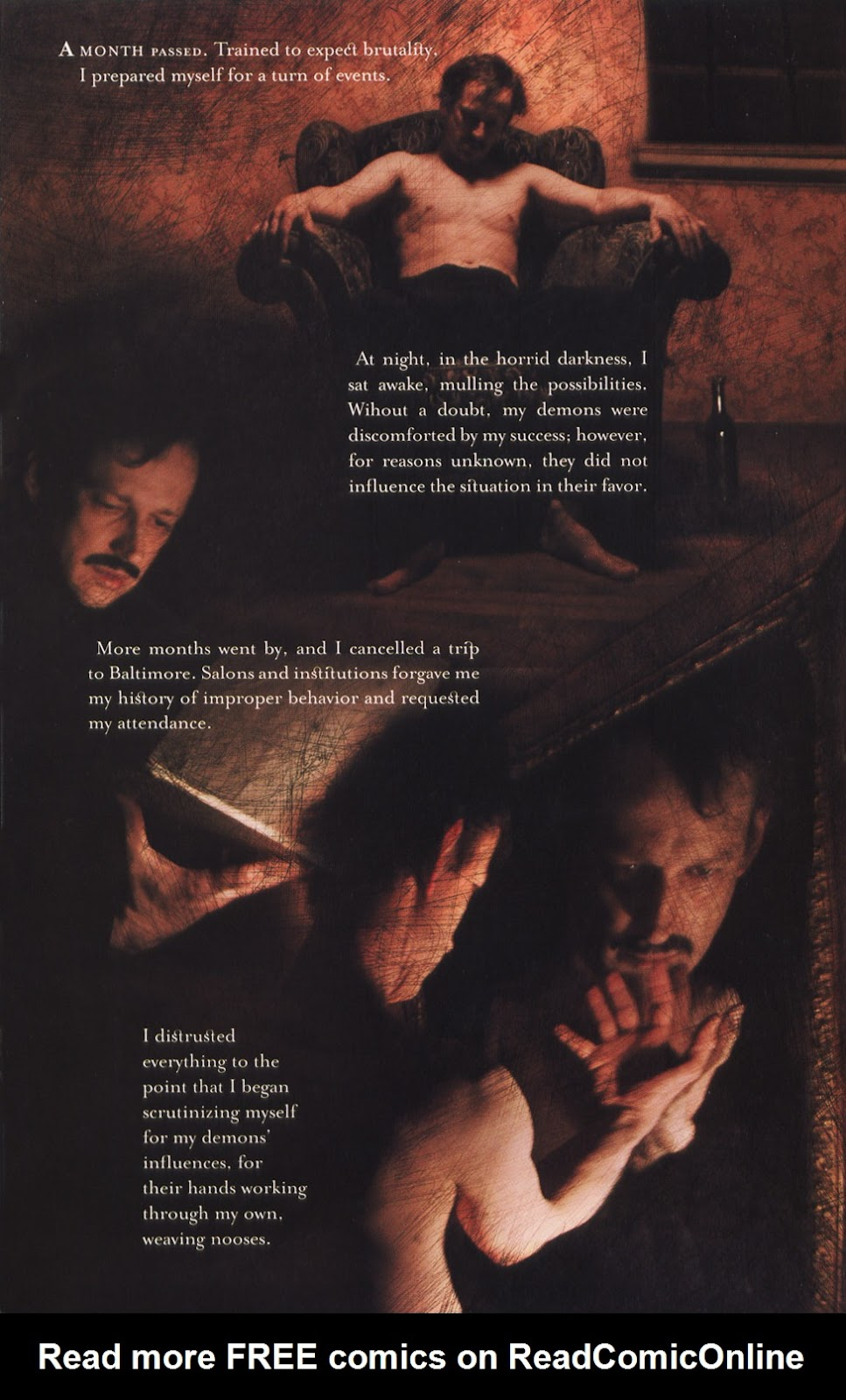 Read online In the Shadow of Edgar Allan Poe comic -  Issue # TPB - 72