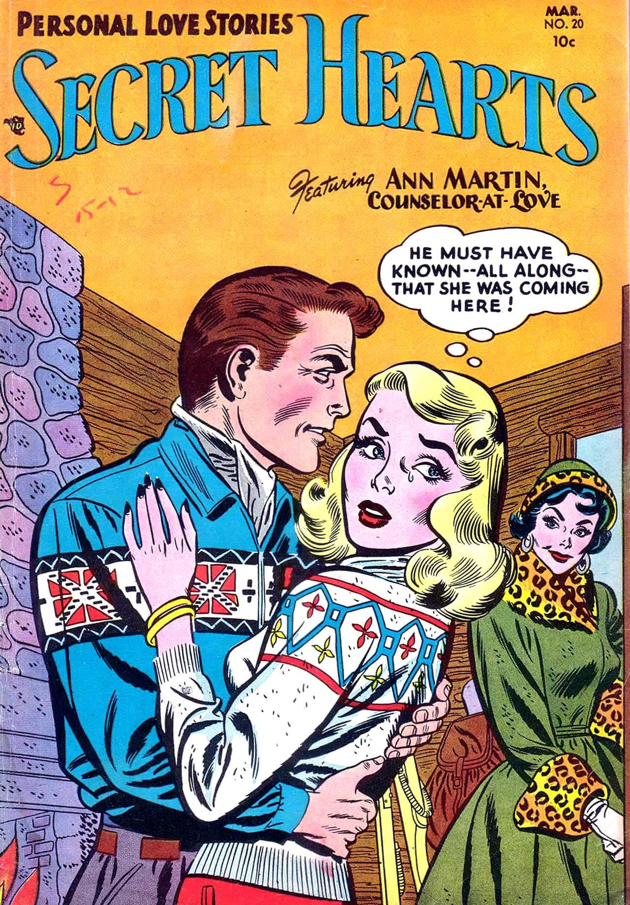 Read online Secret Hearts comic -  Issue #20 - 1