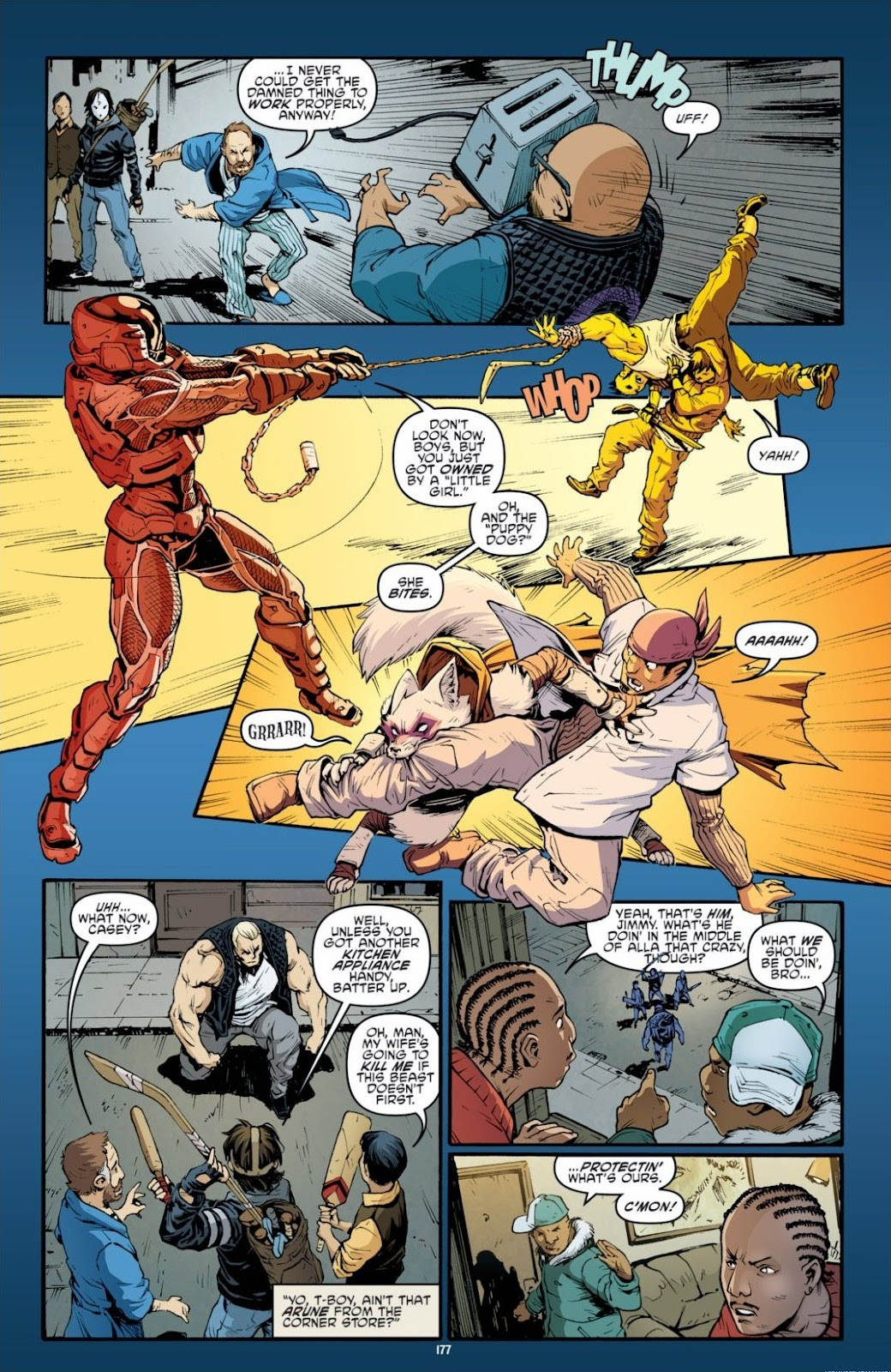 Read online Teenage Mutant Ninja Turtles: The IDW Collection comic -  Issue # TPB 6 (Part 2) - 75