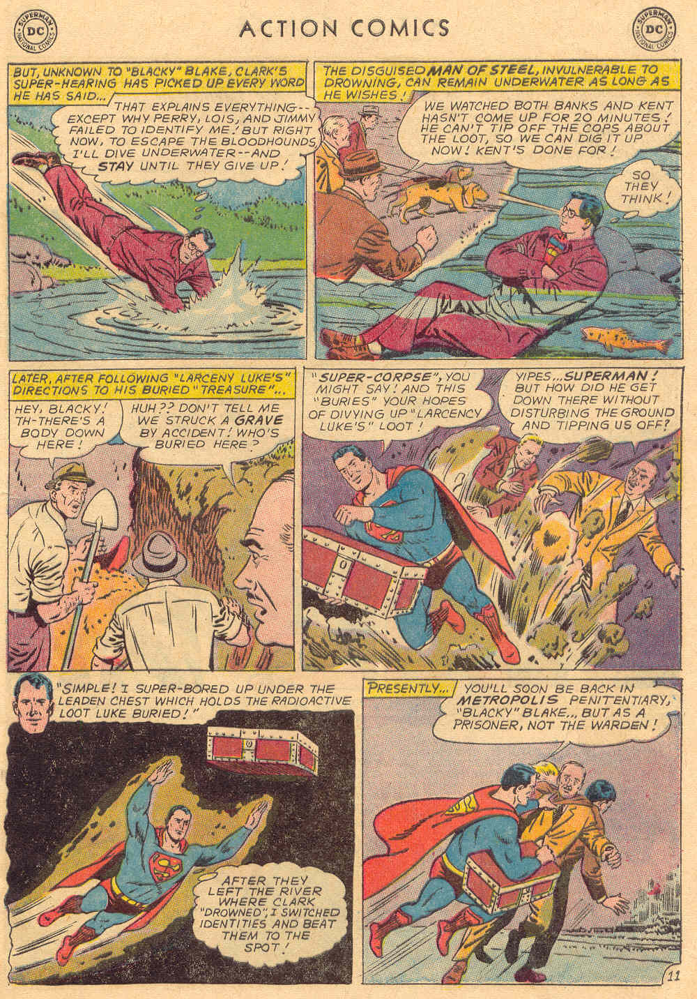 Read online Action Comics (1938) comic -  Issue #323 - 13