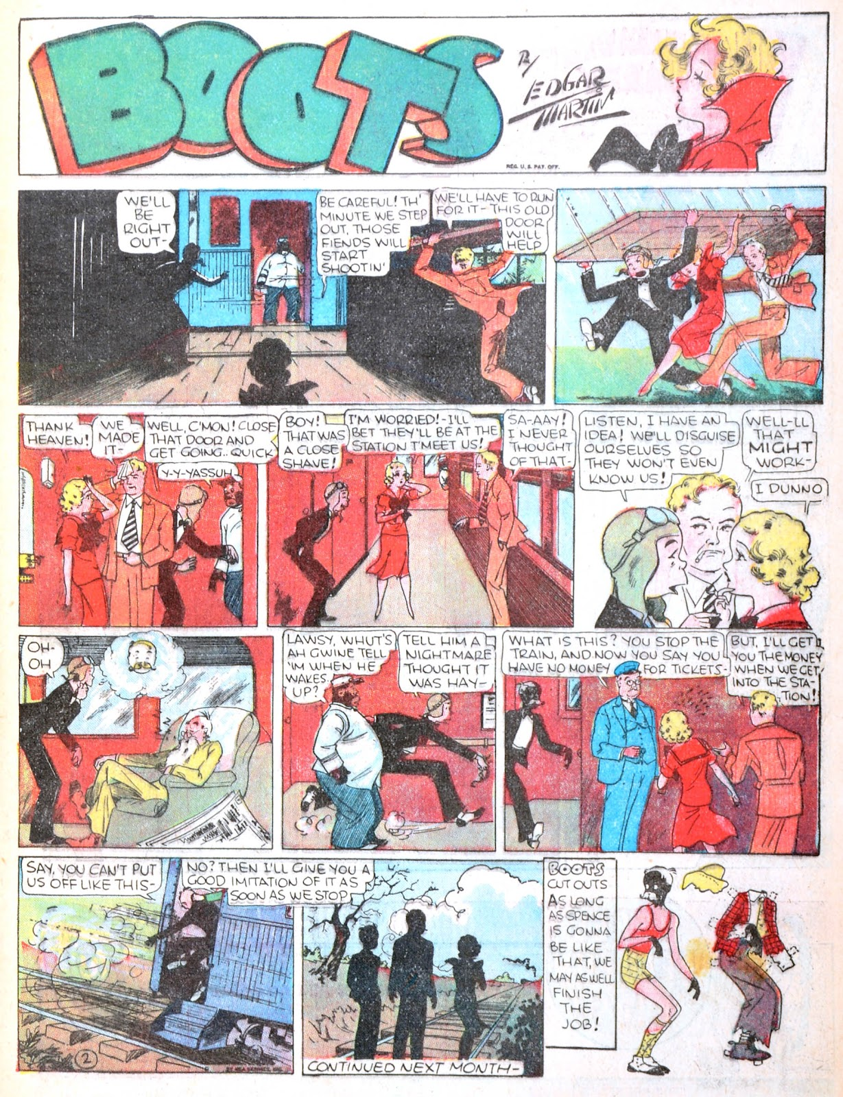 Read online Famous Funnies comic -  Issue #21 - 15