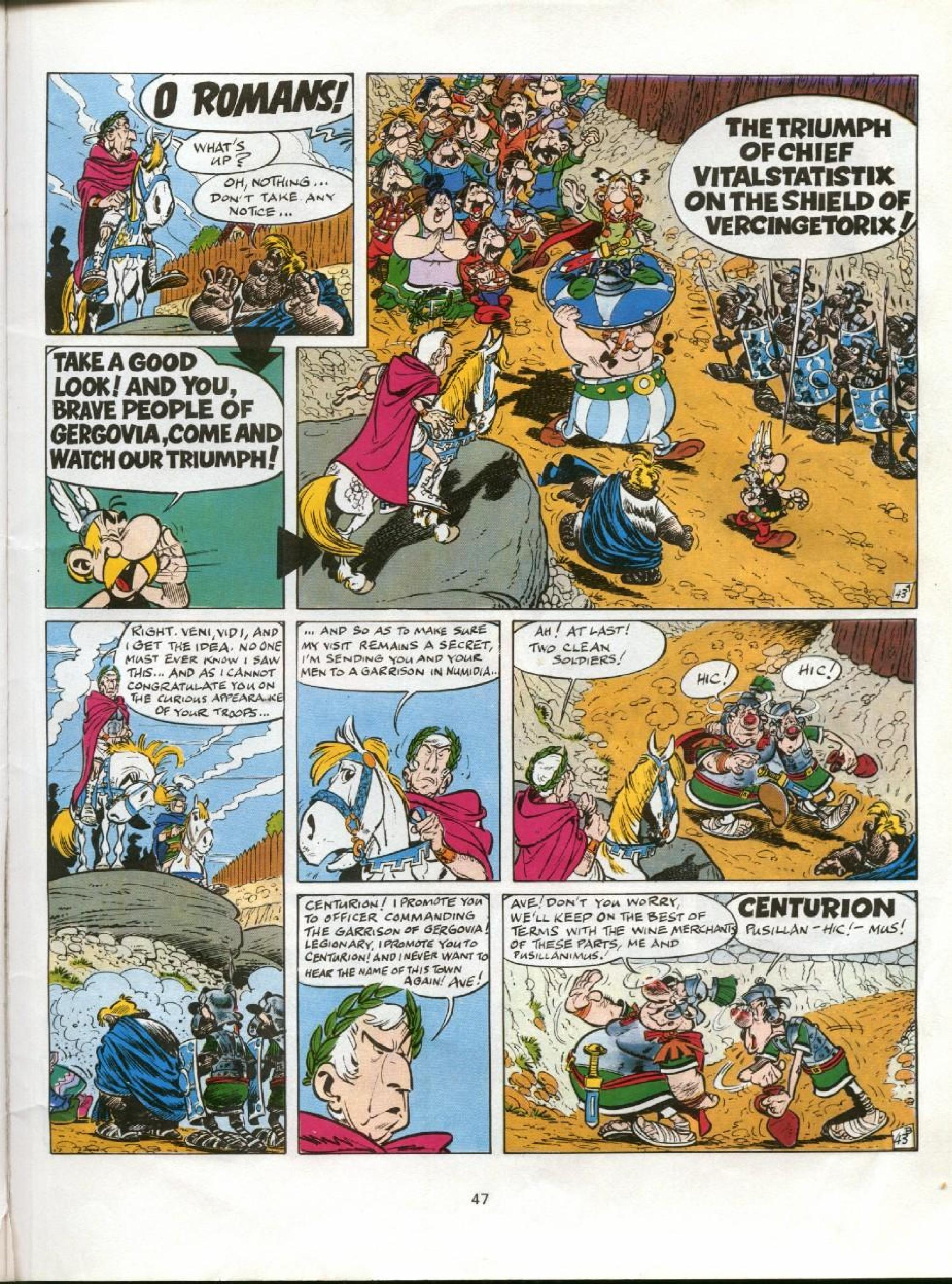 Read online Asterix comic -  Issue #11 - 44