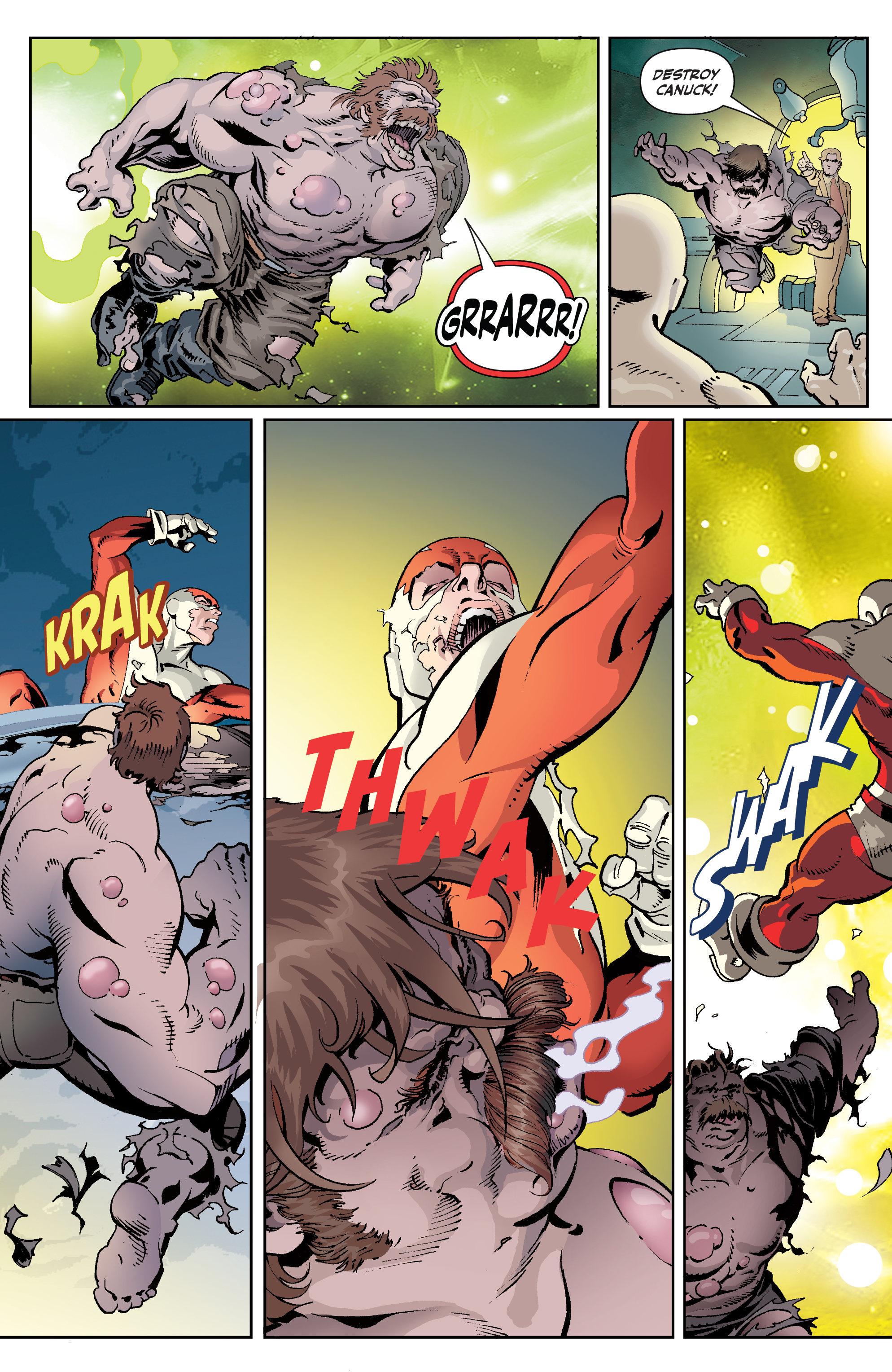 Read online All-New Classic Captain Canuck comic -  Issue #4 - 12