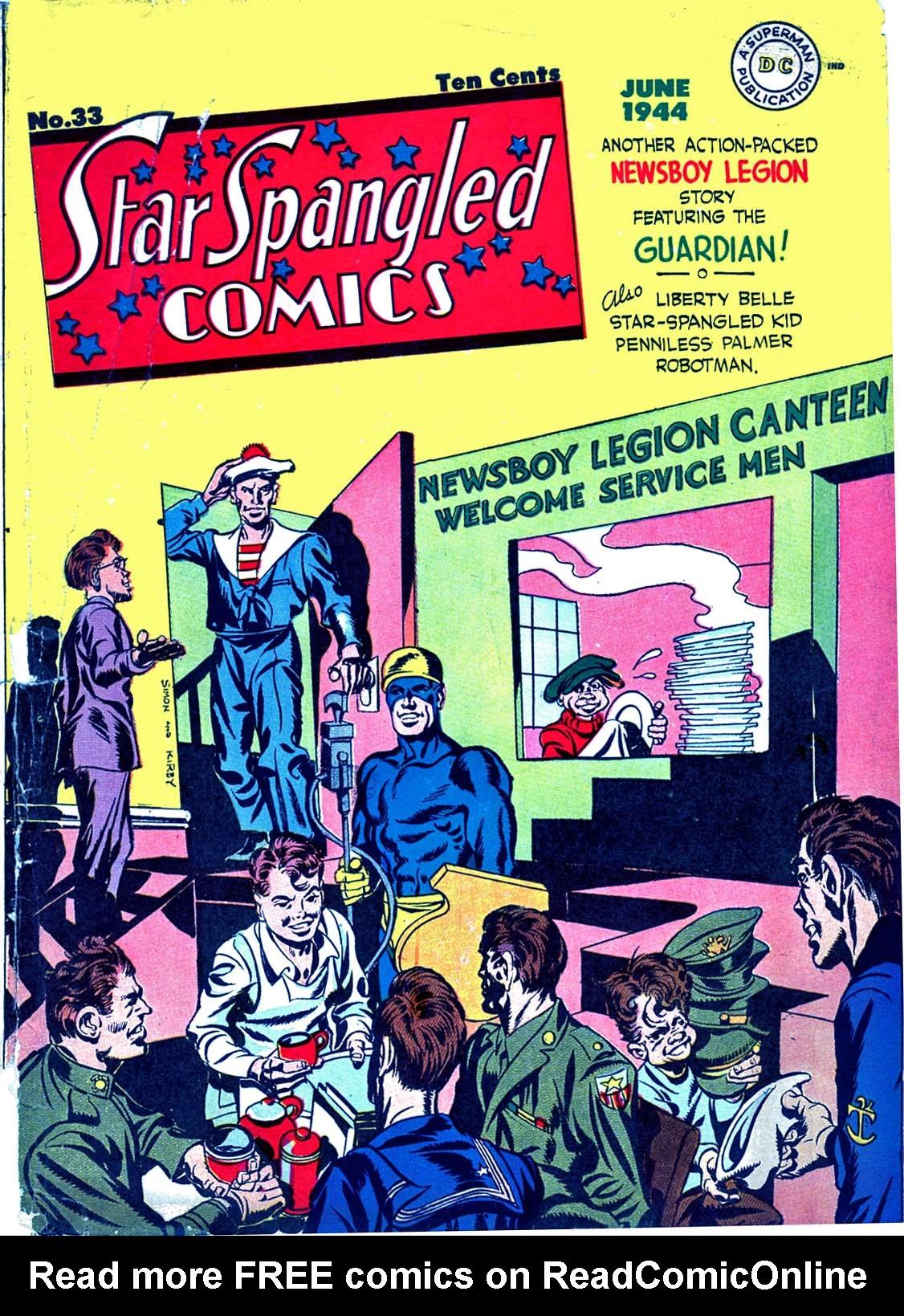 Star Spangled Comics (1941) 33 Page 1