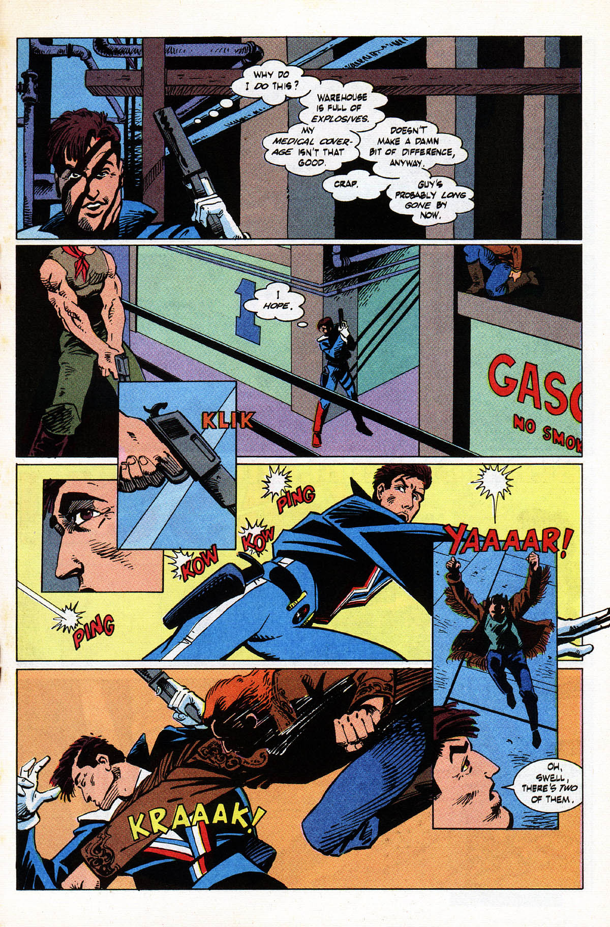 Read online American Flagg! comic -  Issue #38 - 19