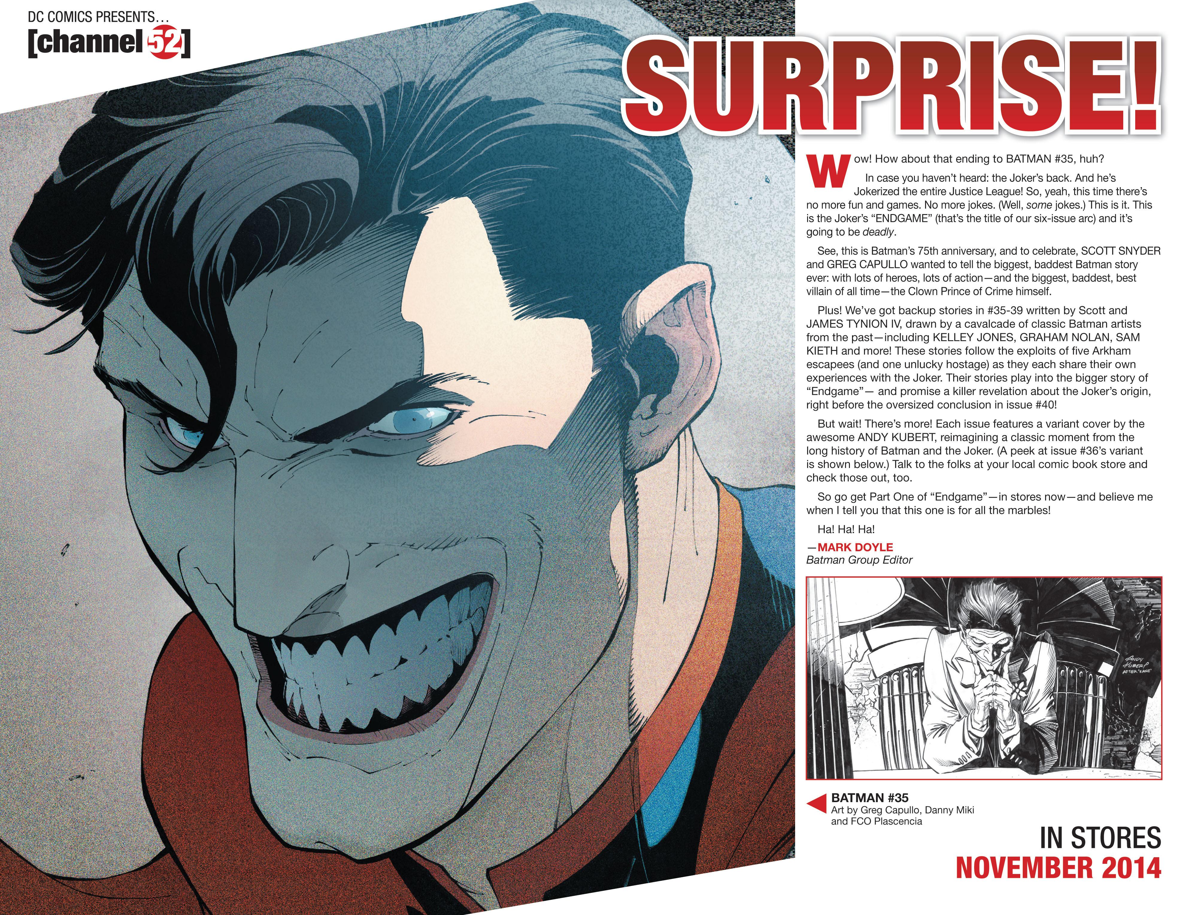 Read online Secret Origins (2014) comic -  Issue #6 - 37