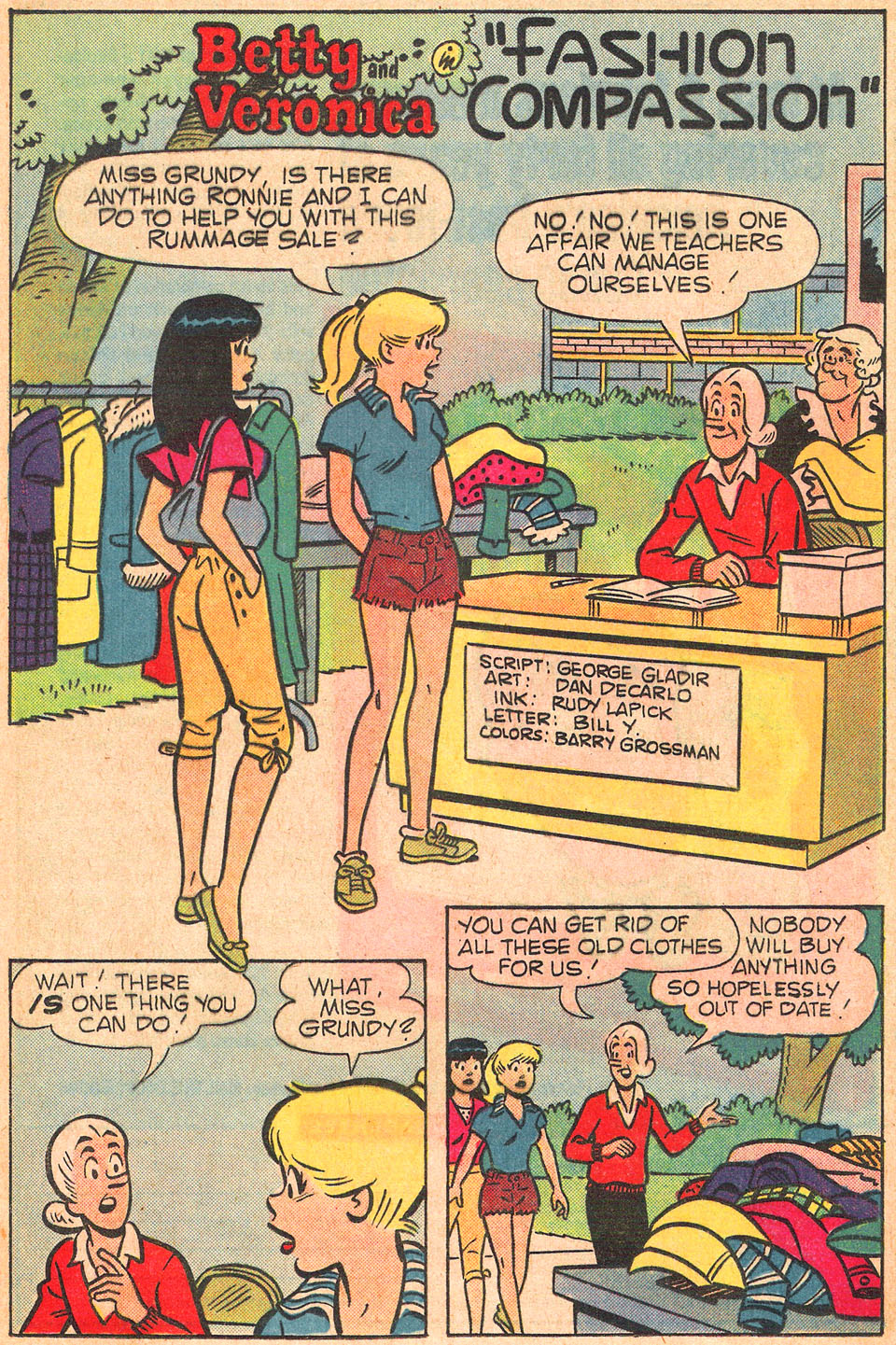Read online Archie's Girls Betty and Veronica comic -  Issue #309 - 20