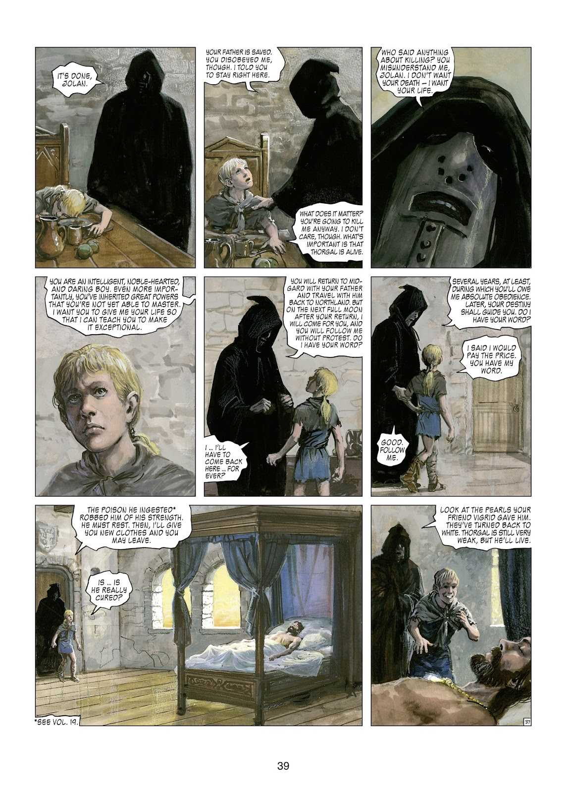 Read online Thorgal comic -  Issue #21 - 41