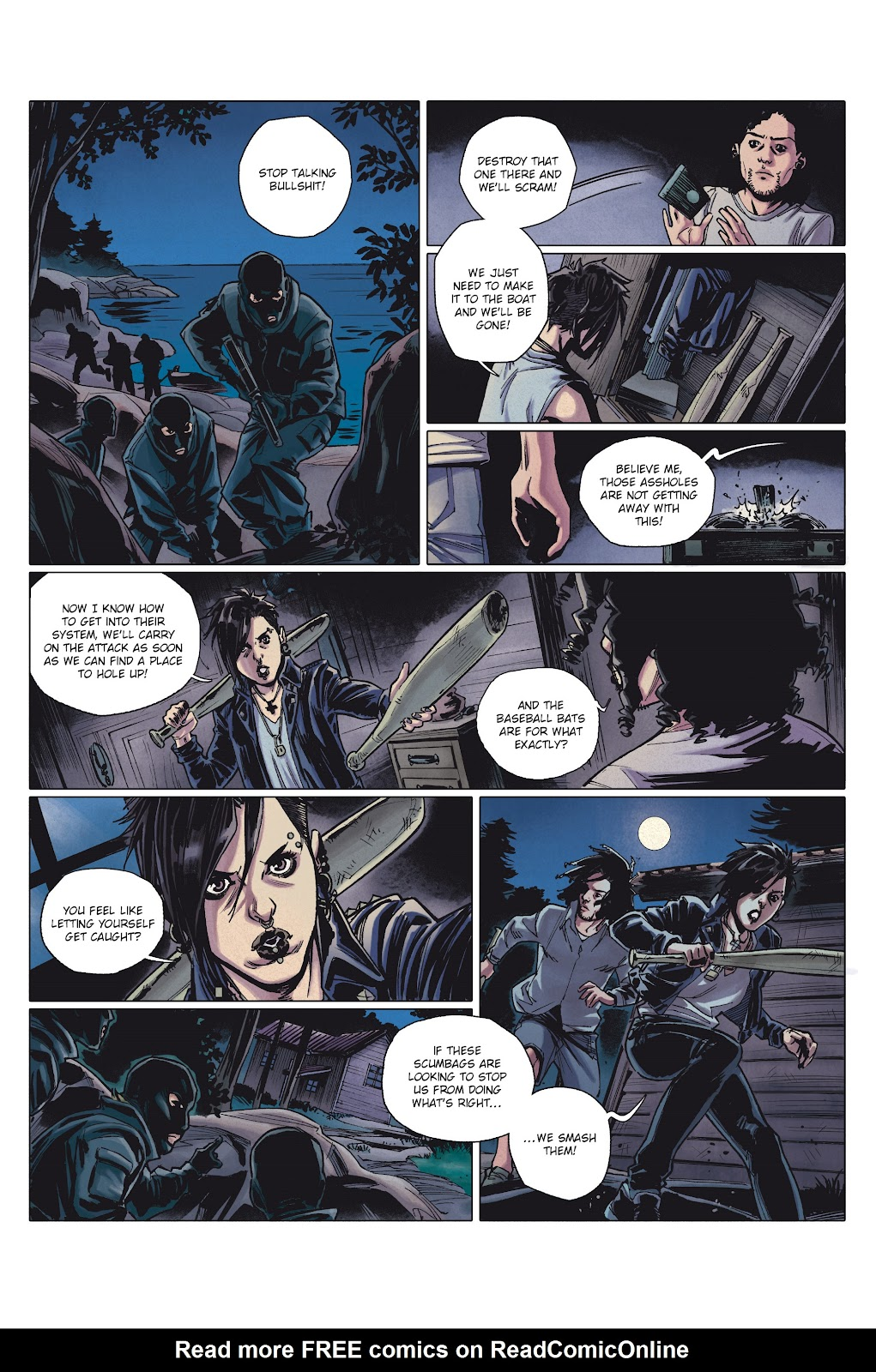 Read online Millennium: The Girl Who Danced With Death comic -  Issue #1 - 38