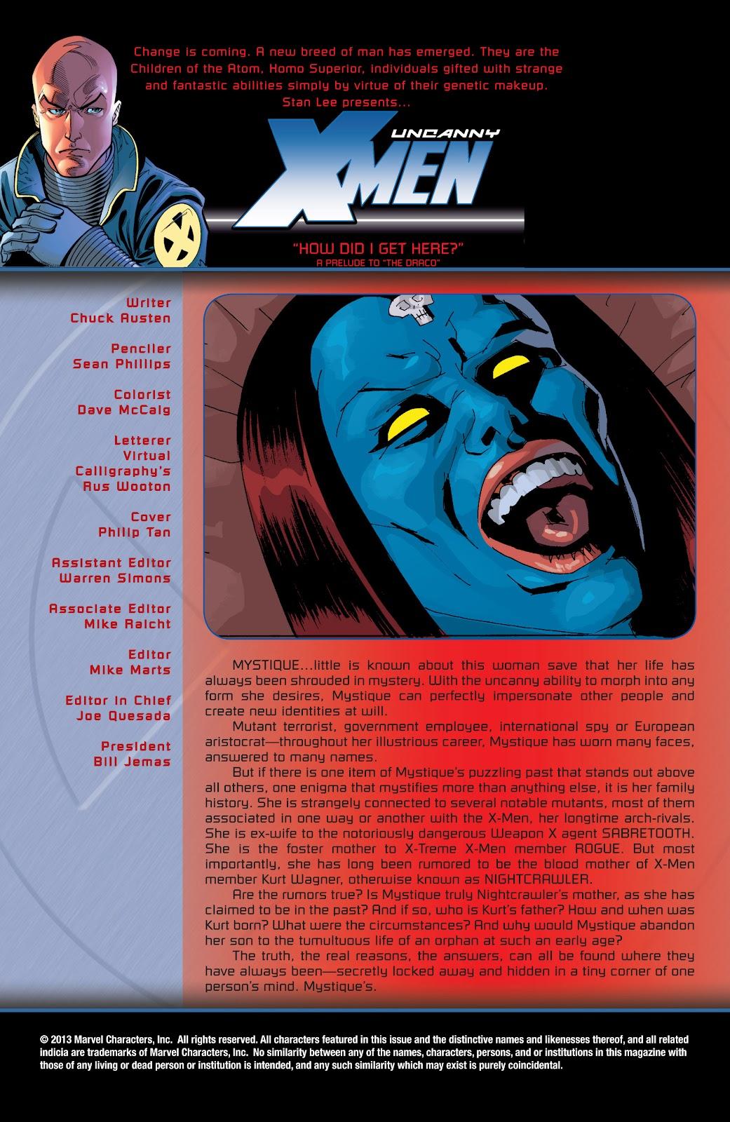 Uncanny X-Men (1963) issue 428 - Page 2