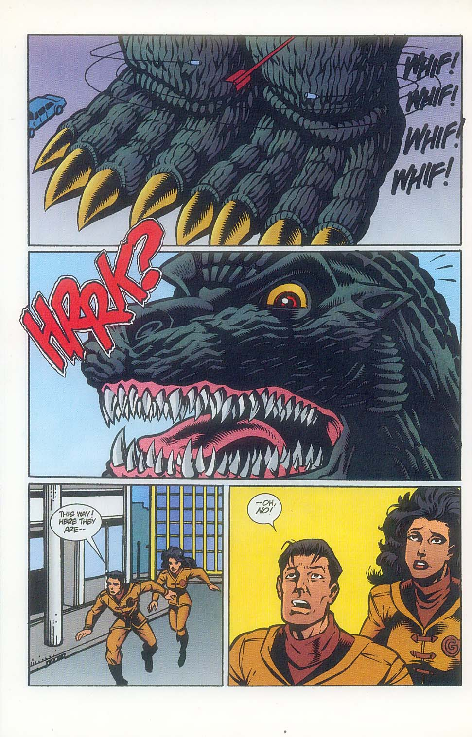 Godzilla (1995) Issue #7 #8 - English 15