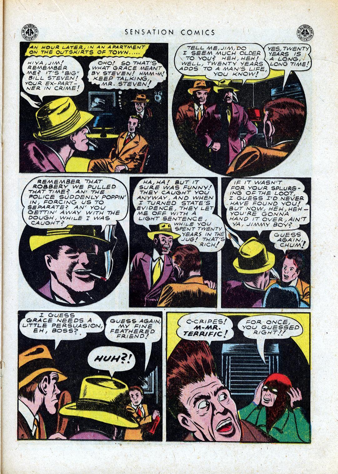Read online Sensation (Mystery) Comics comic -  Issue #41 - 29