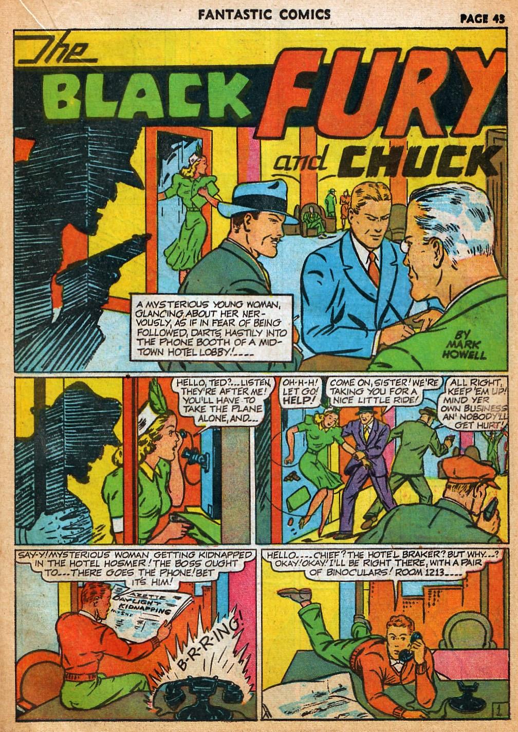 Read online Fantastic Comics comic -  Issue #22 - 44
