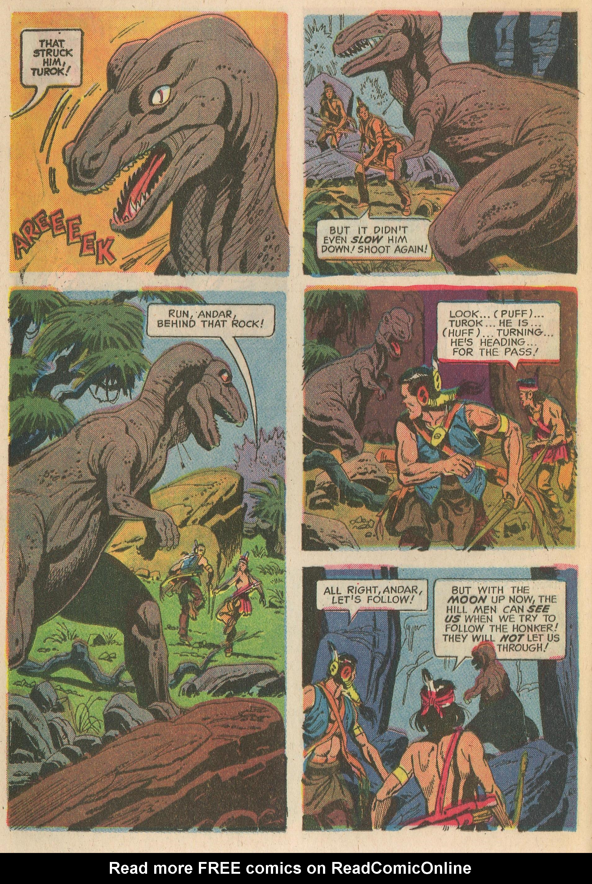 Read online Turok, Son of Stone comic -  Issue #65 - 24