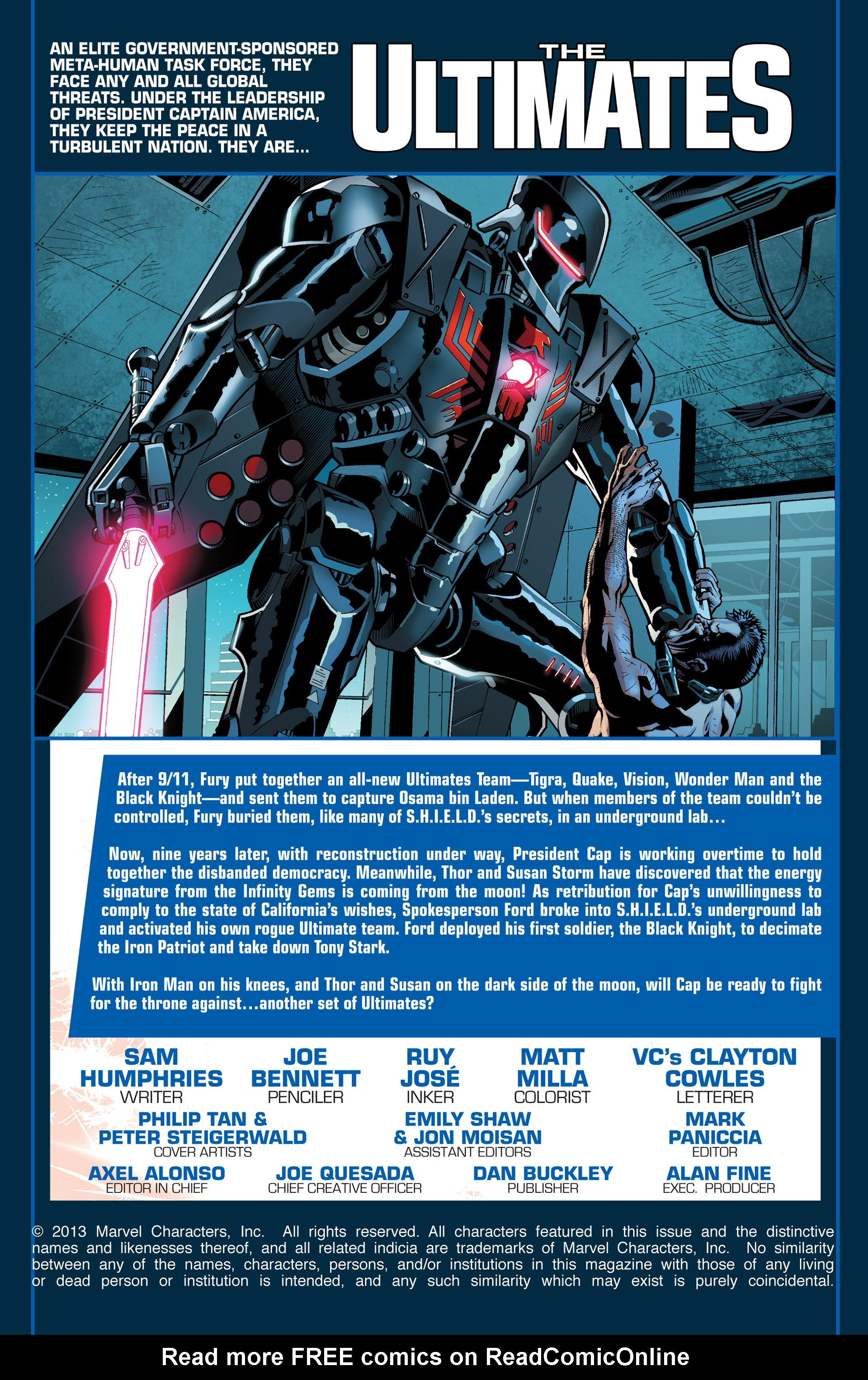 Read online Ultimate Comics Ultimates comic -  Issue #23 - 2