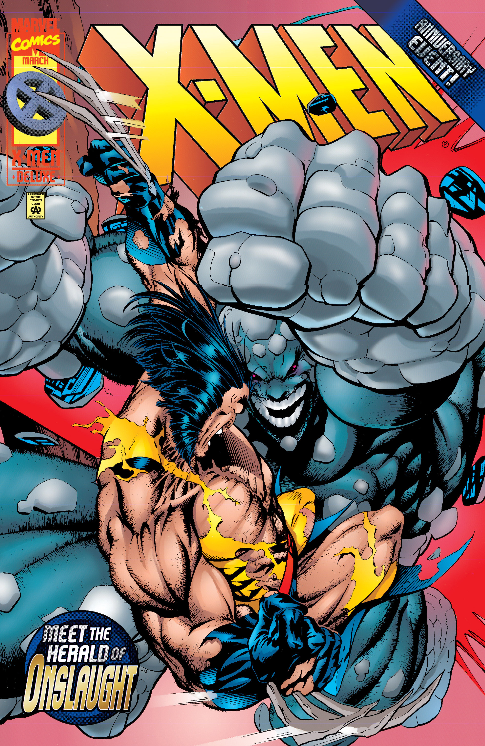 X-Men (1991) 50 Page 0