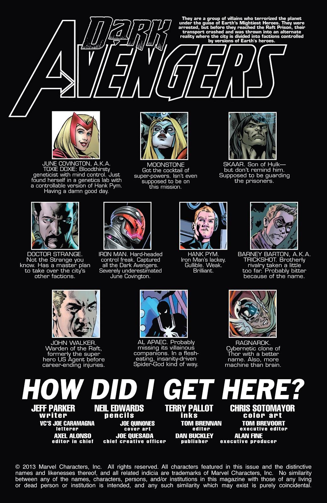 Dark Avengers (2012) Issue #185 #11 - English 2