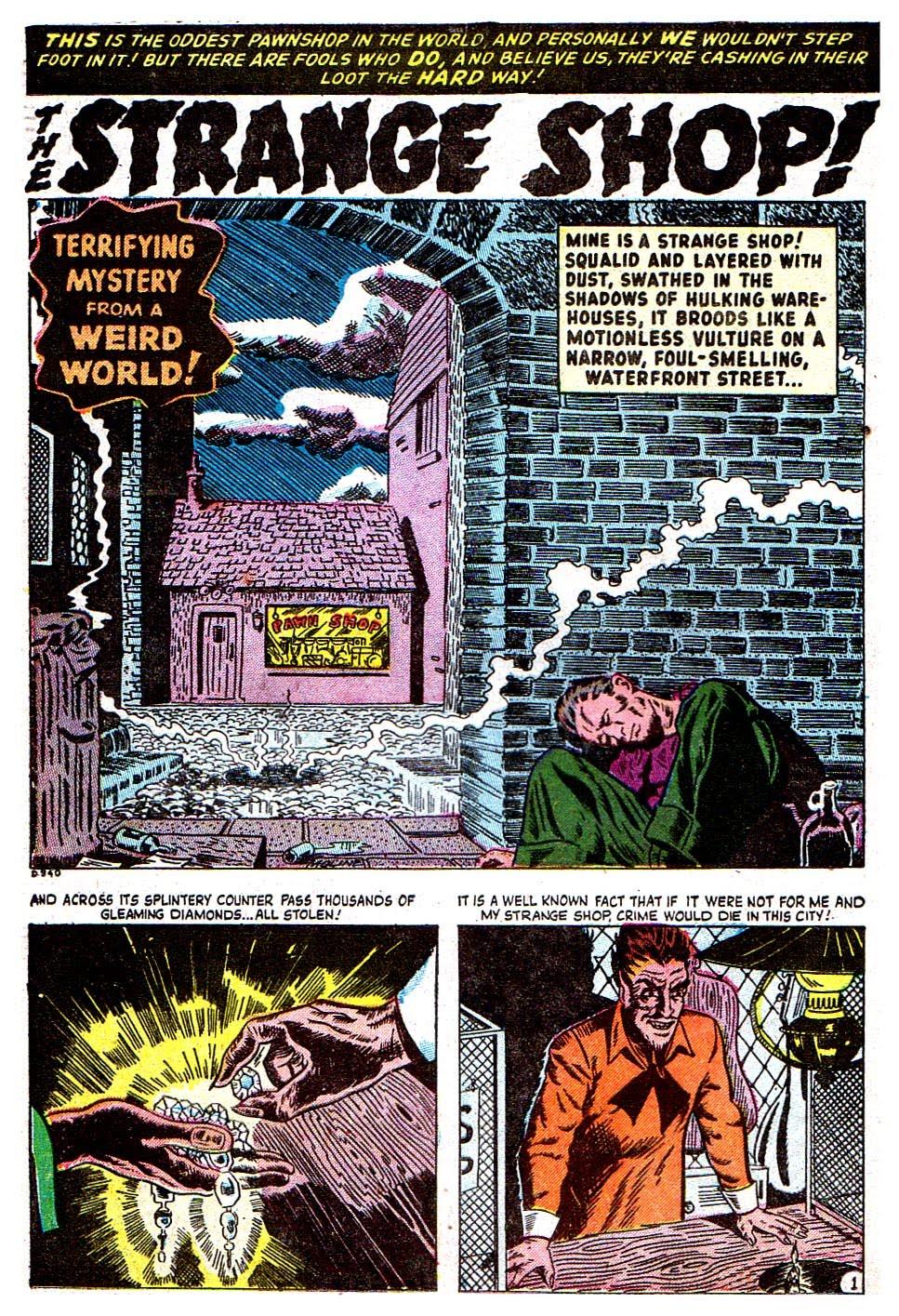 Read online Adventures into Weird Worlds comic -  Issue #28 - 12