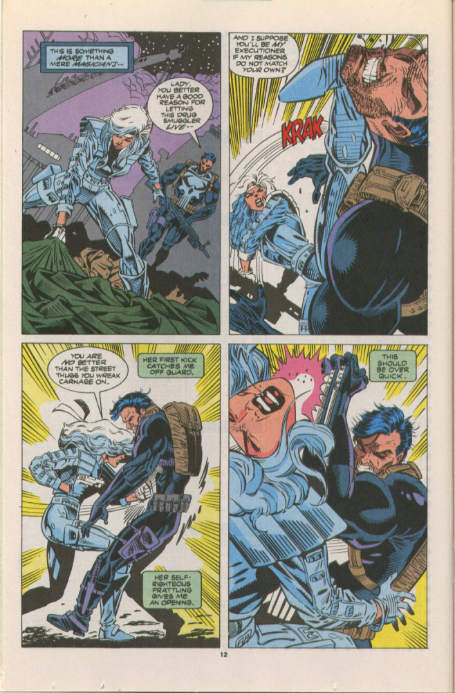 Read online Silver Sable and the Wild Pack comic -  Issue #10 - 10