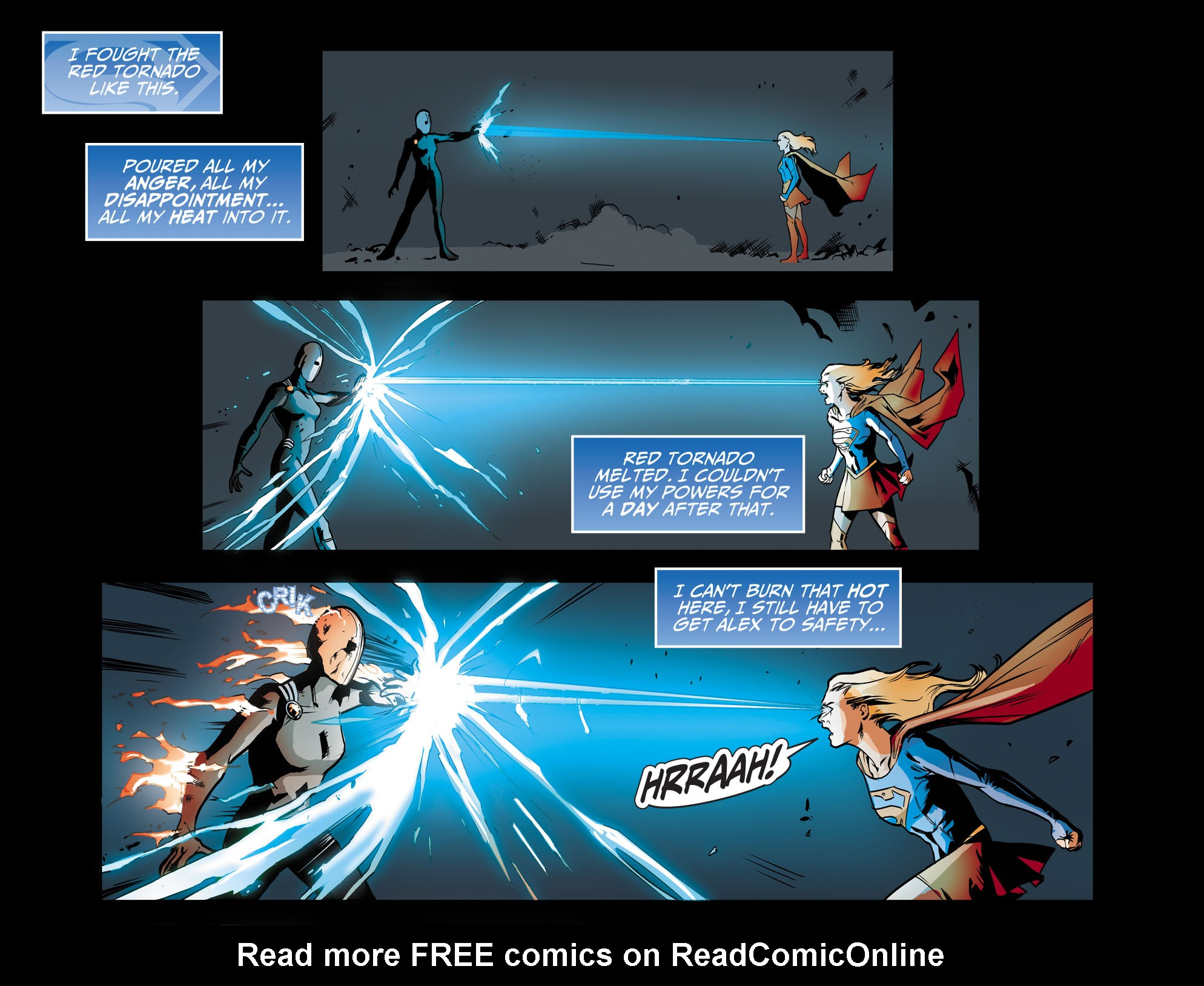 Read online Adventures of Supergirl comic -  Issue #9 - 15